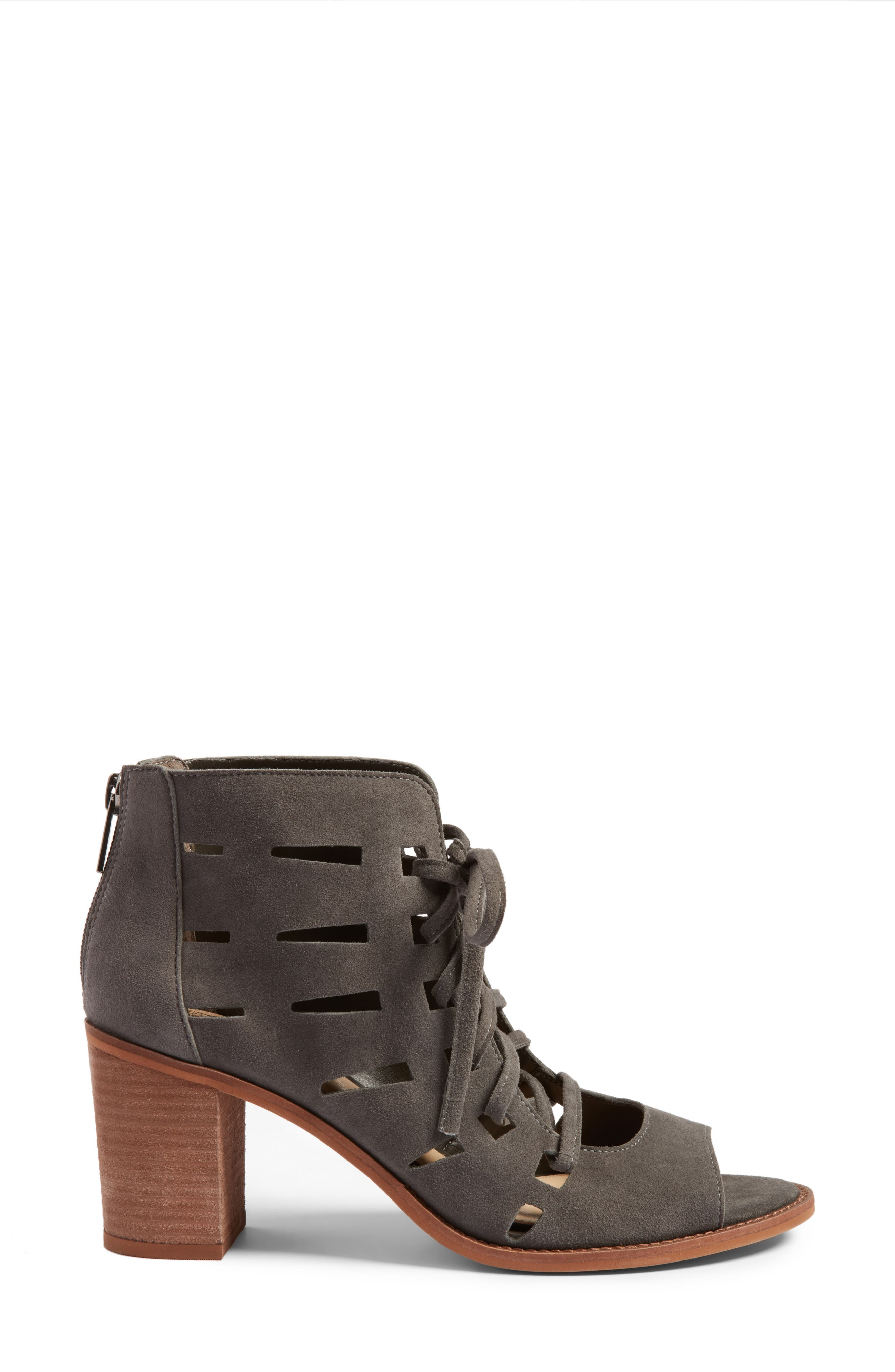 Alternate Image 3  - Vince Camuto Tressa Perforated Lace-Up Sandal (Women)