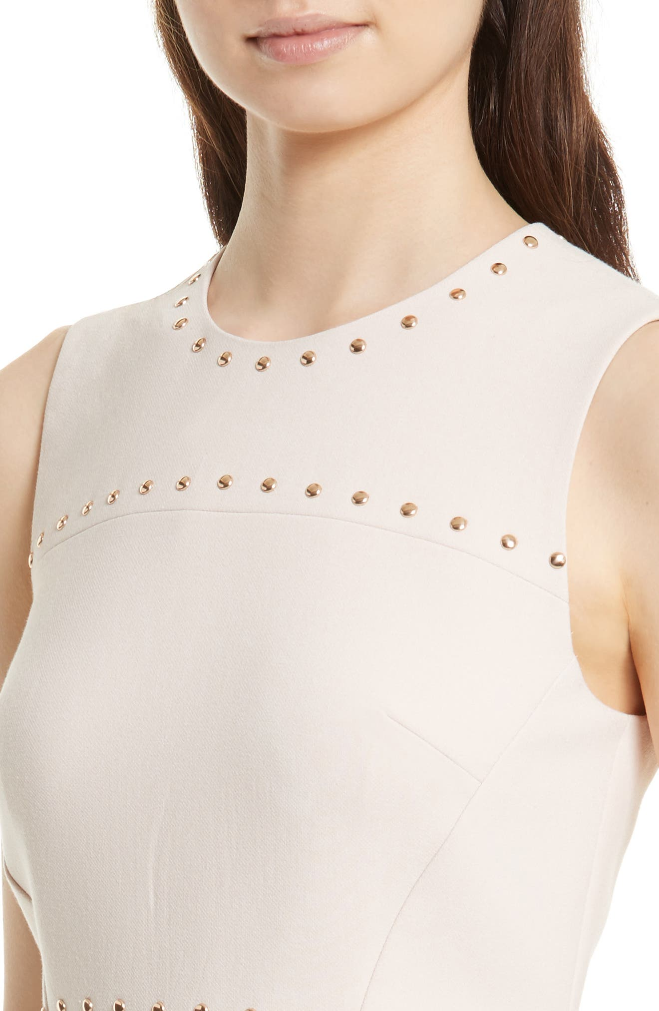 Alternate Image 4  - kate spade new york studded a-line crepe dress