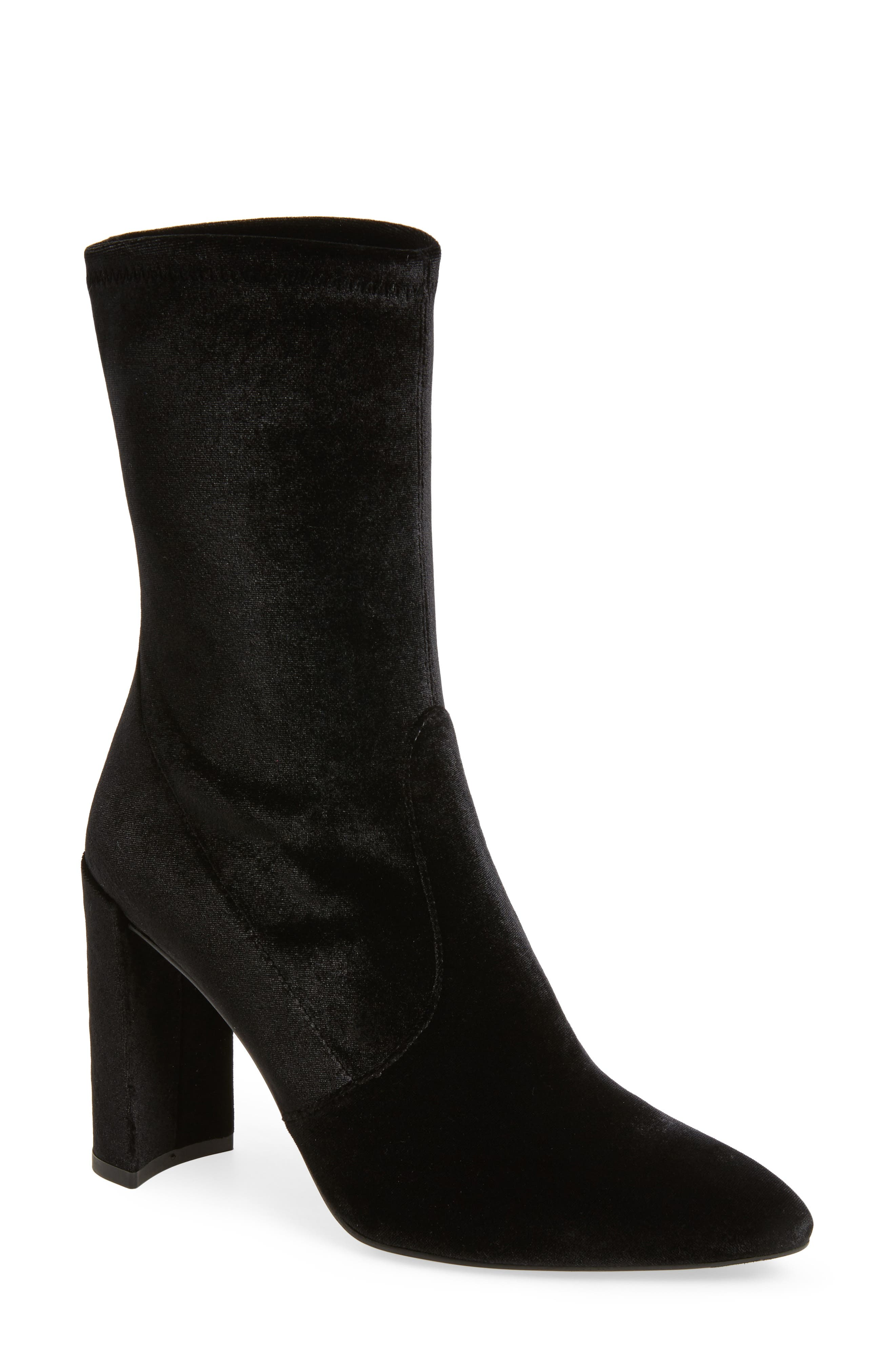 Alternate Image 1 Selected - Stuart Weitzman Clinger Stretch Bootie (Women)