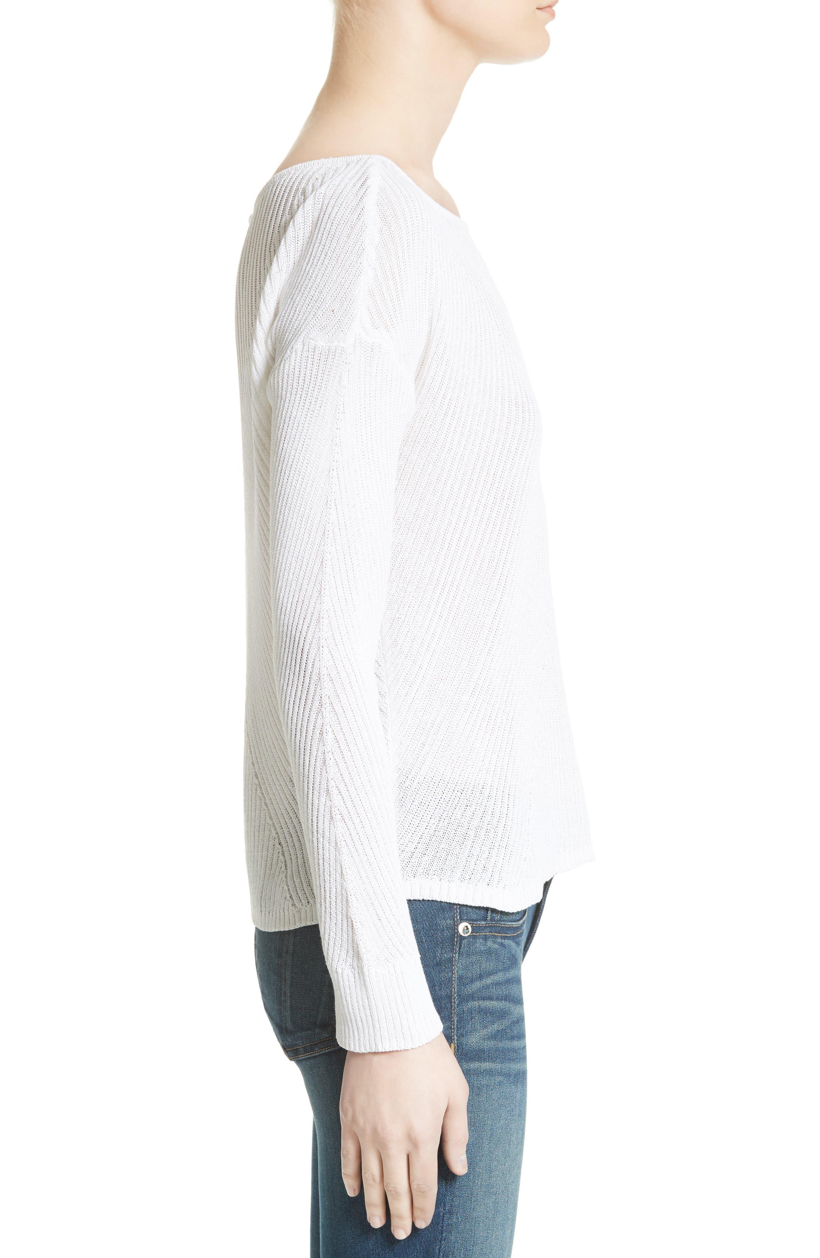 Alternate Image 3  - rag & bone Gretchen Pullover