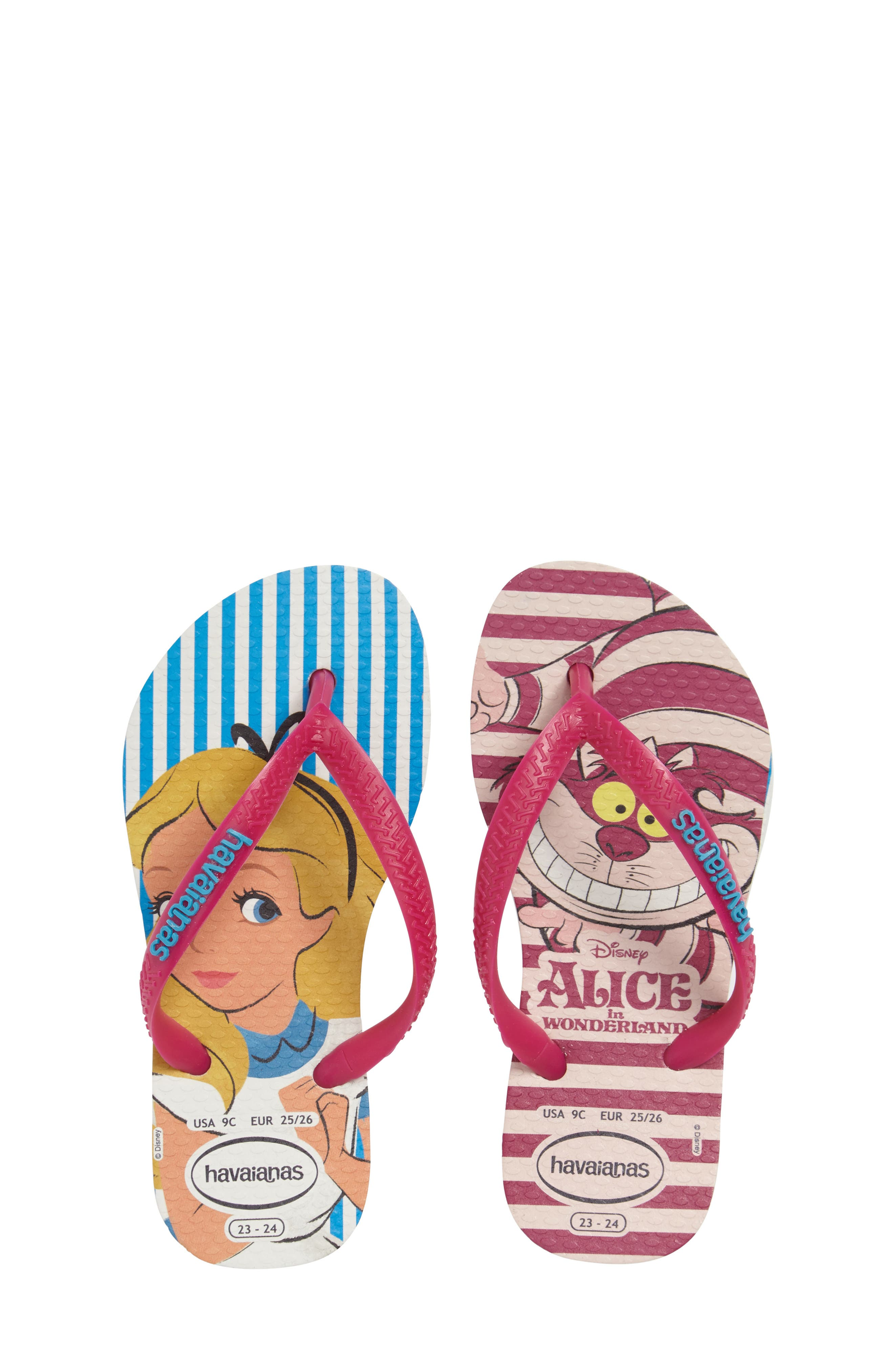 Havaianas Slim Alice Flip Flop (Toddler & Little Kid)