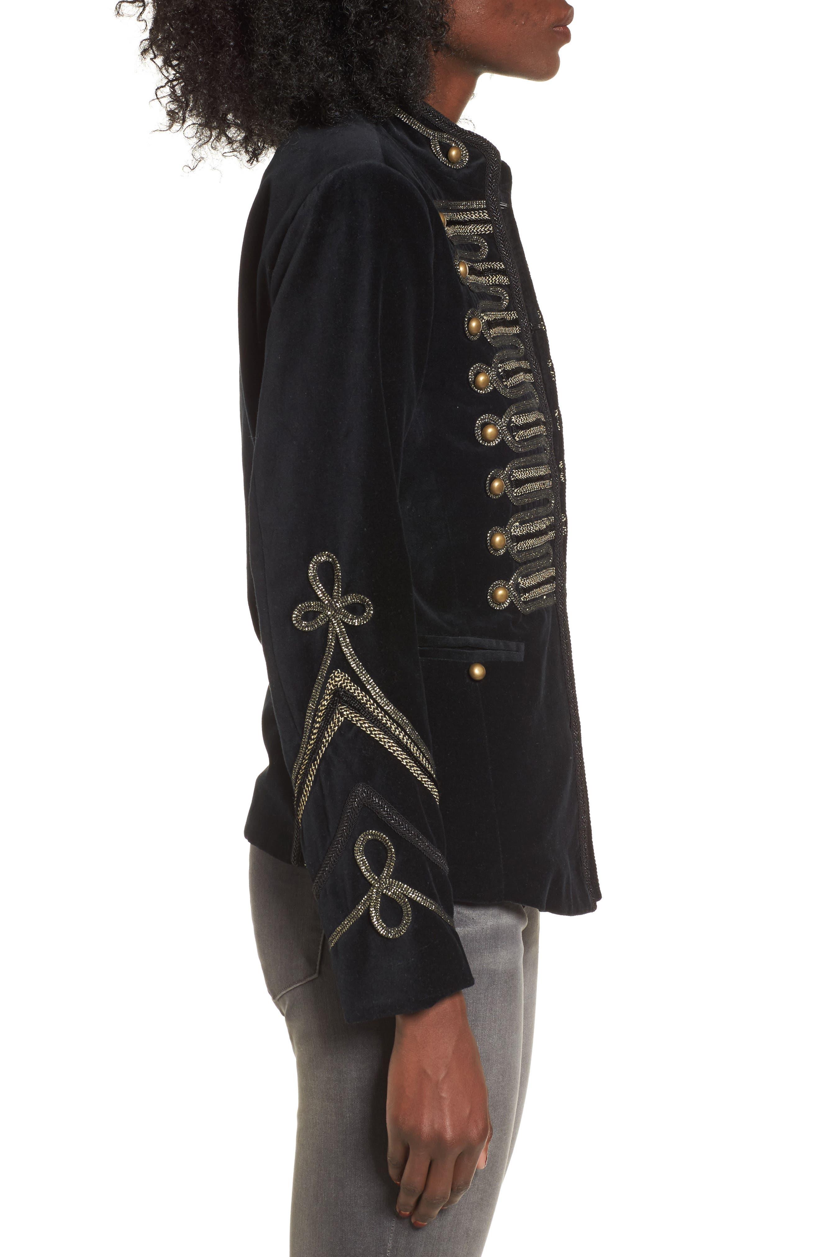 Alternate Image 3  - BLANKNYC Velvet Band Jacket