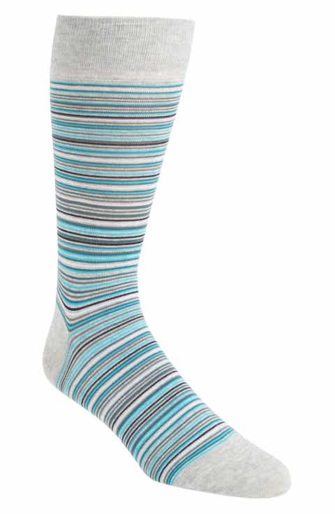 Cole Haan Multi Stripe Crew Socks (3 for $30)