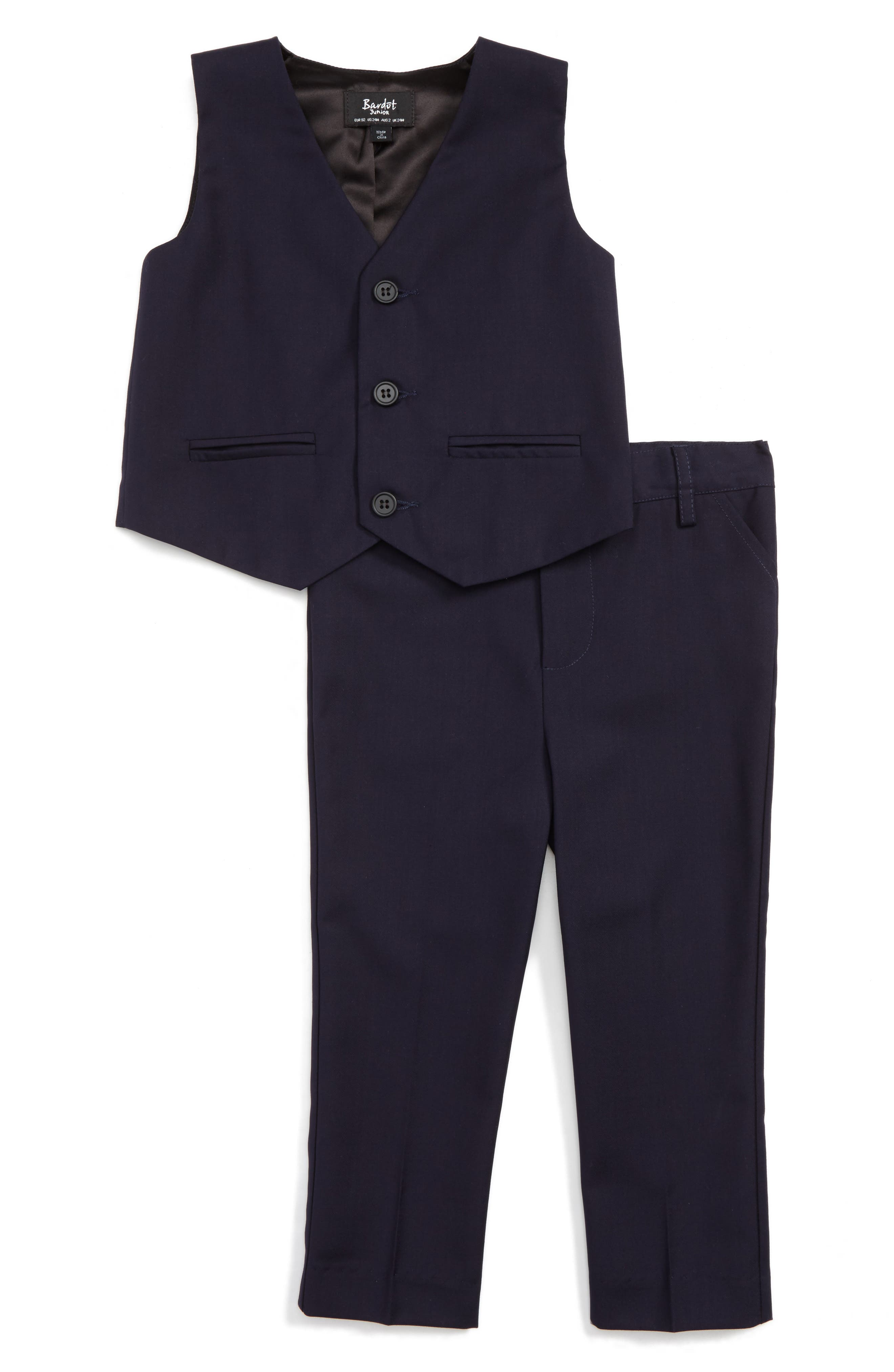 Bardot Junior Harry Vest & Pants Set (Baby Boys & Toddler Boys)