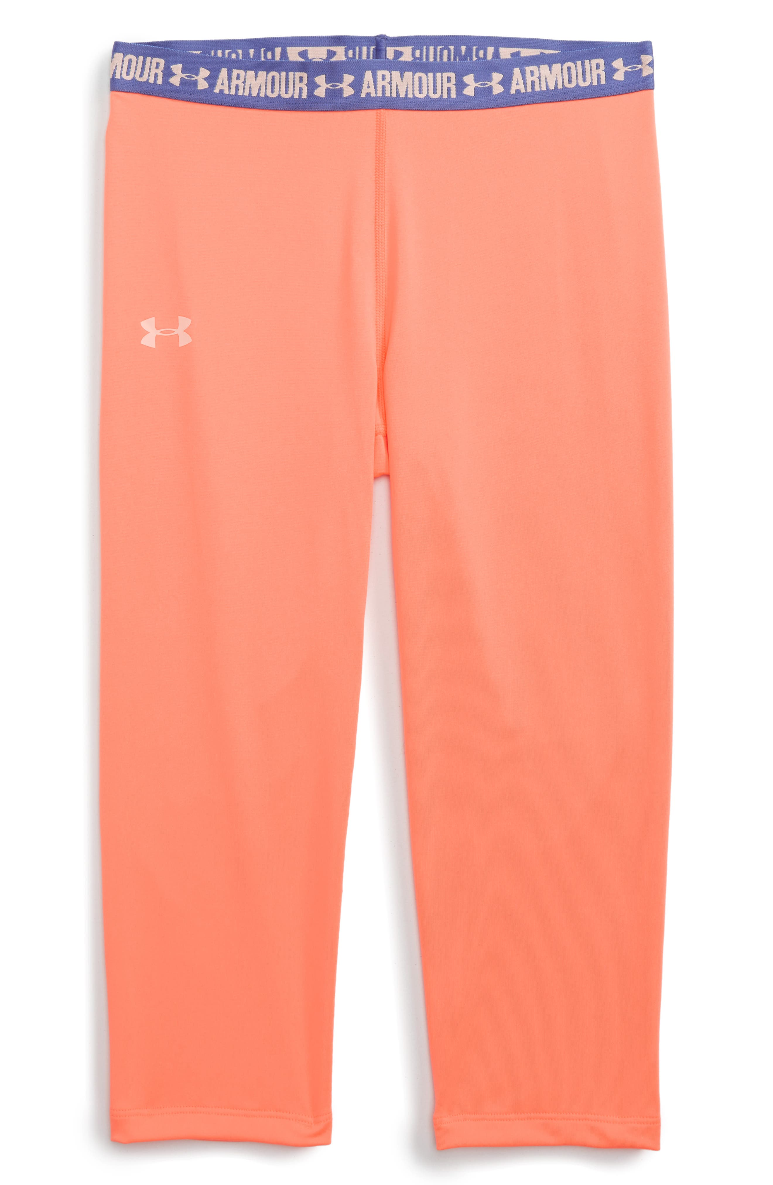 UNDER ARMOUR 'Armour Solid' HeatGear® Capri Leggings