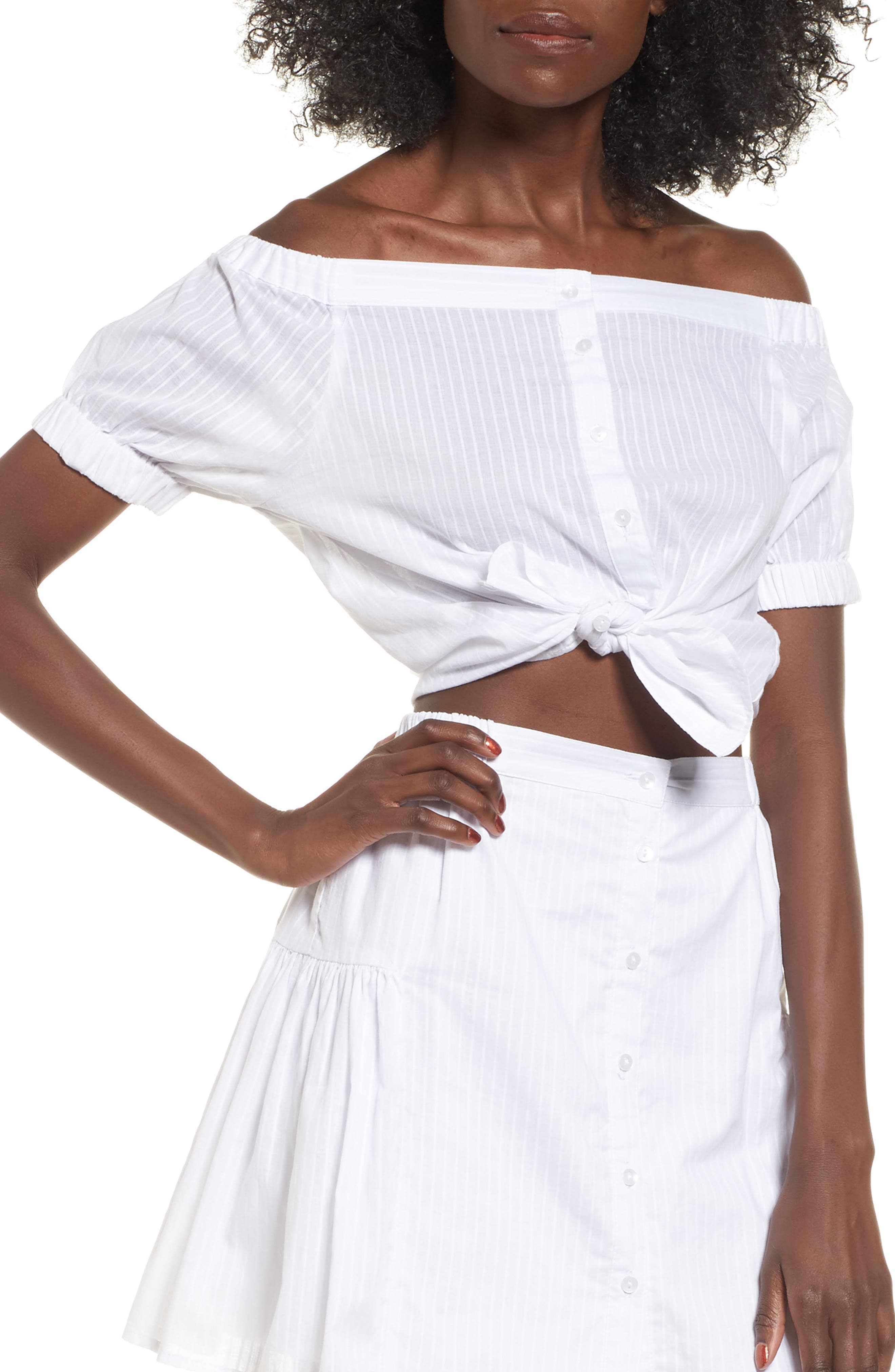 The Fifth Label Sun Valley Off the Shoulder Top