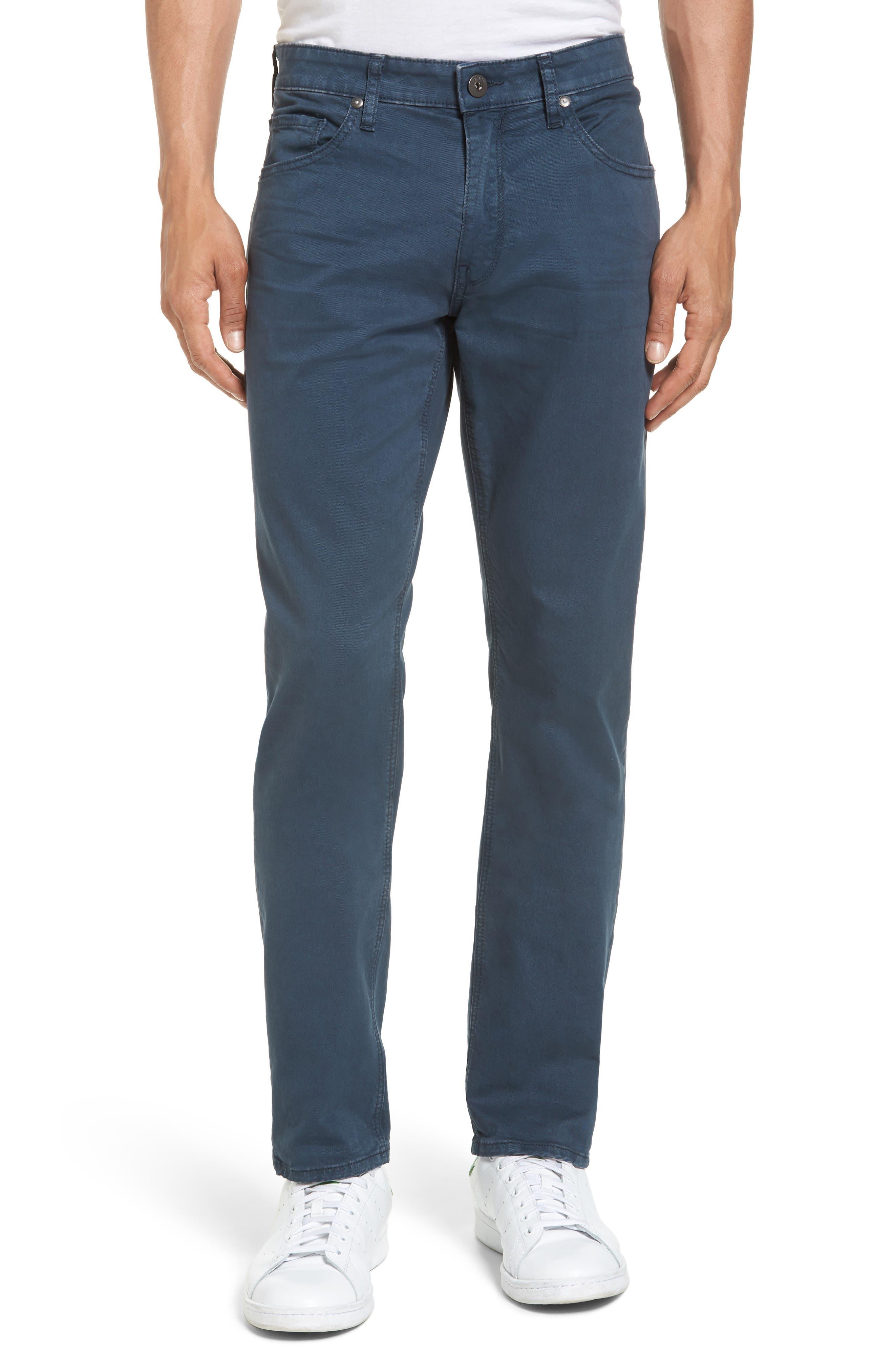 PAIGE Lennox Slim Fit Five-Pocket Pants