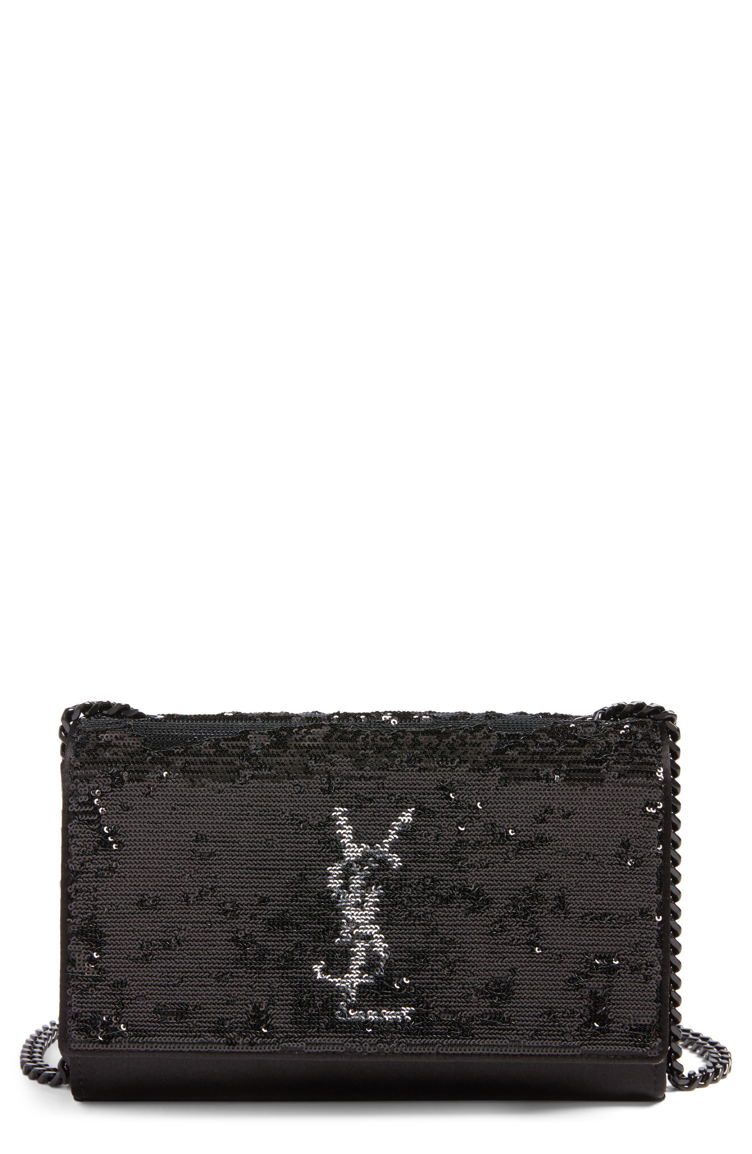 Saint Laurent Small Kate Magic Paillettes Shoulder Bag
