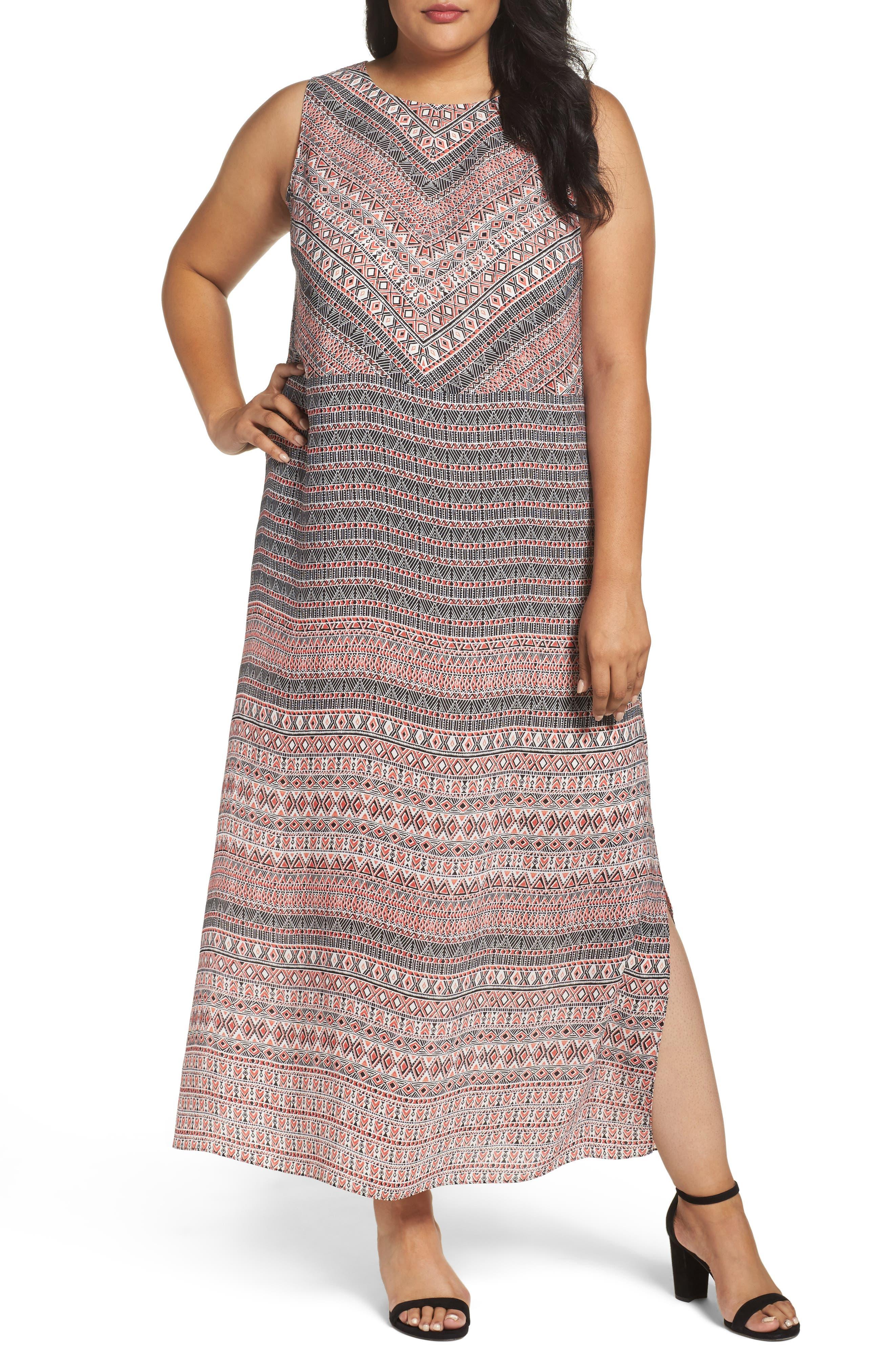 NIC+ZOE Summer Solstice Maxi Dress (Plus Size)