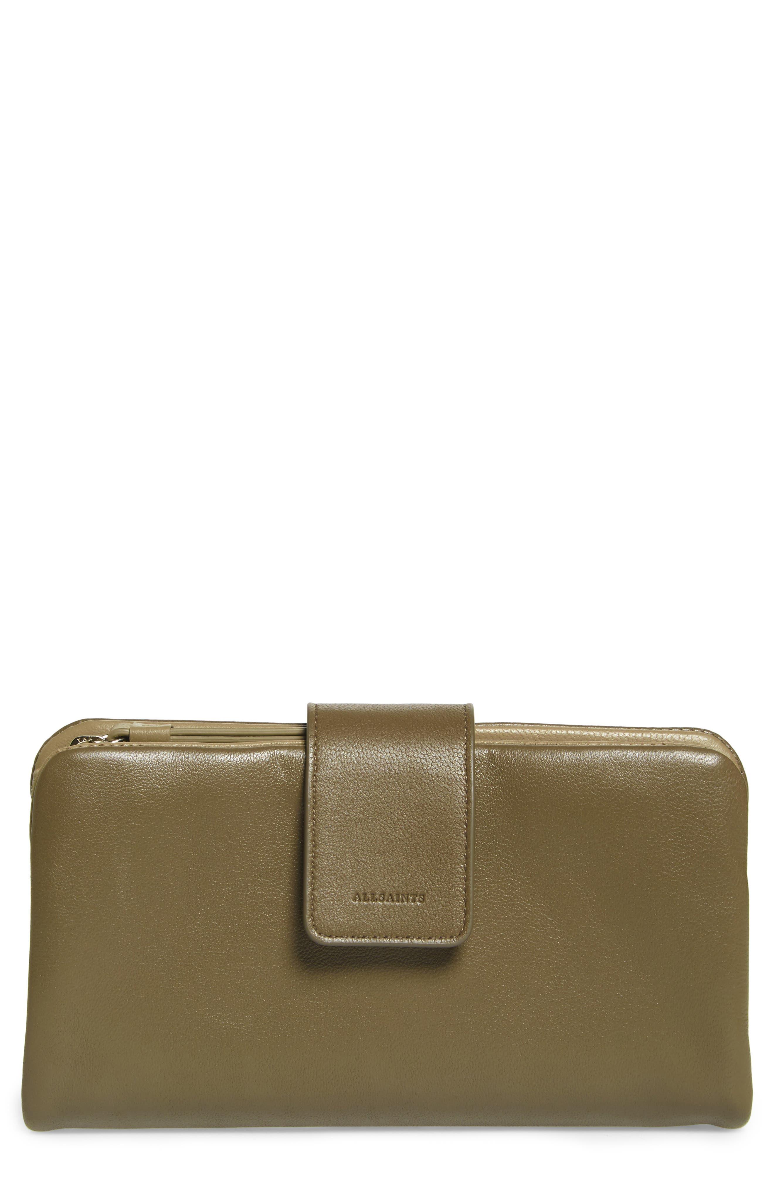 ALLSAINTS Paradise Lambskin Leather Wallet
