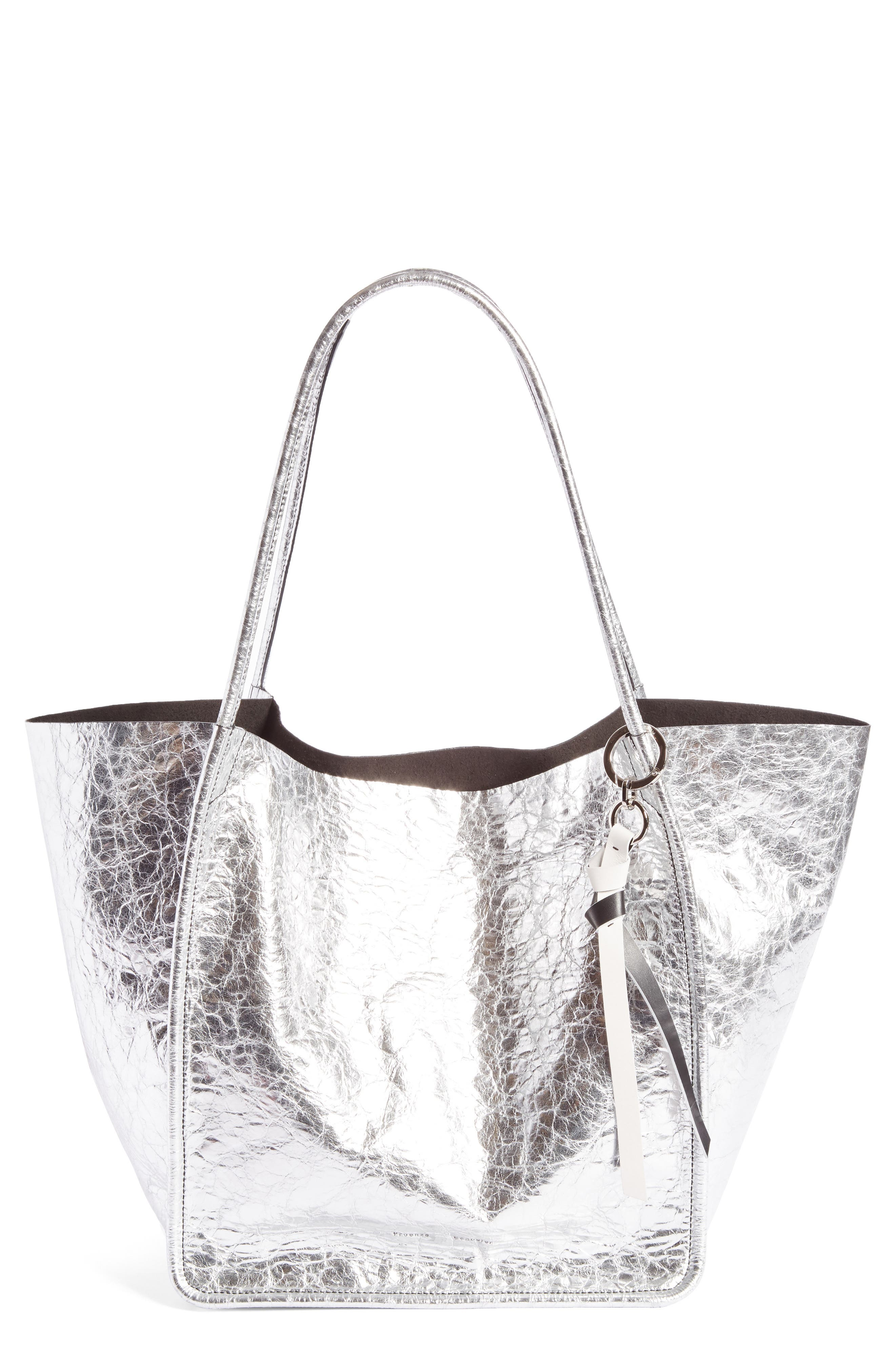 Proenza Schouler Extra Large Metallic Leather Tote