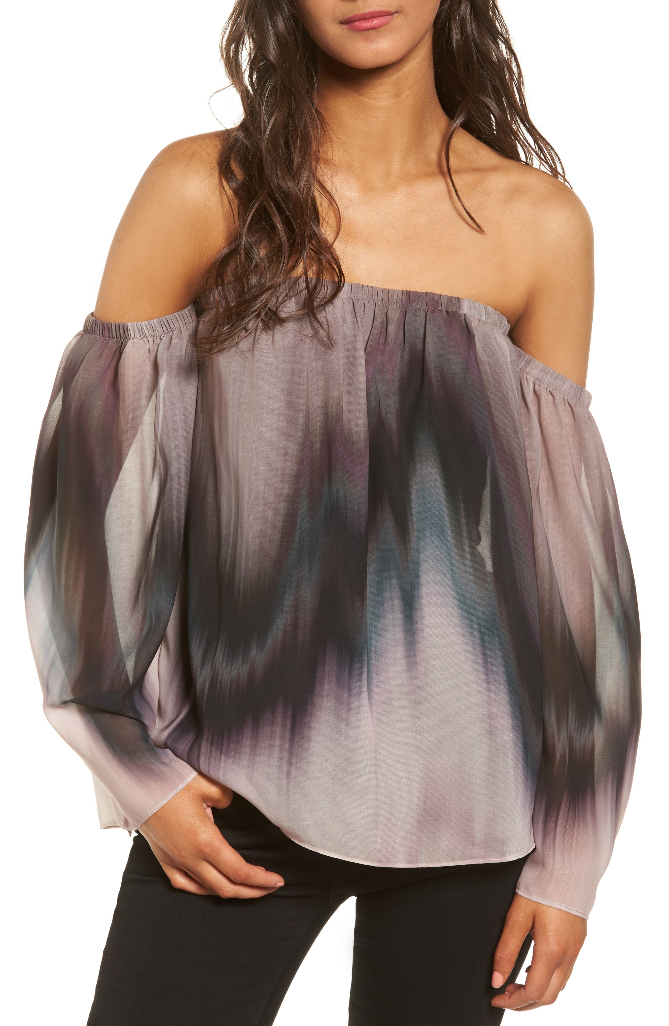 Bailey 44 Grande Jete Off the Shoulder Top