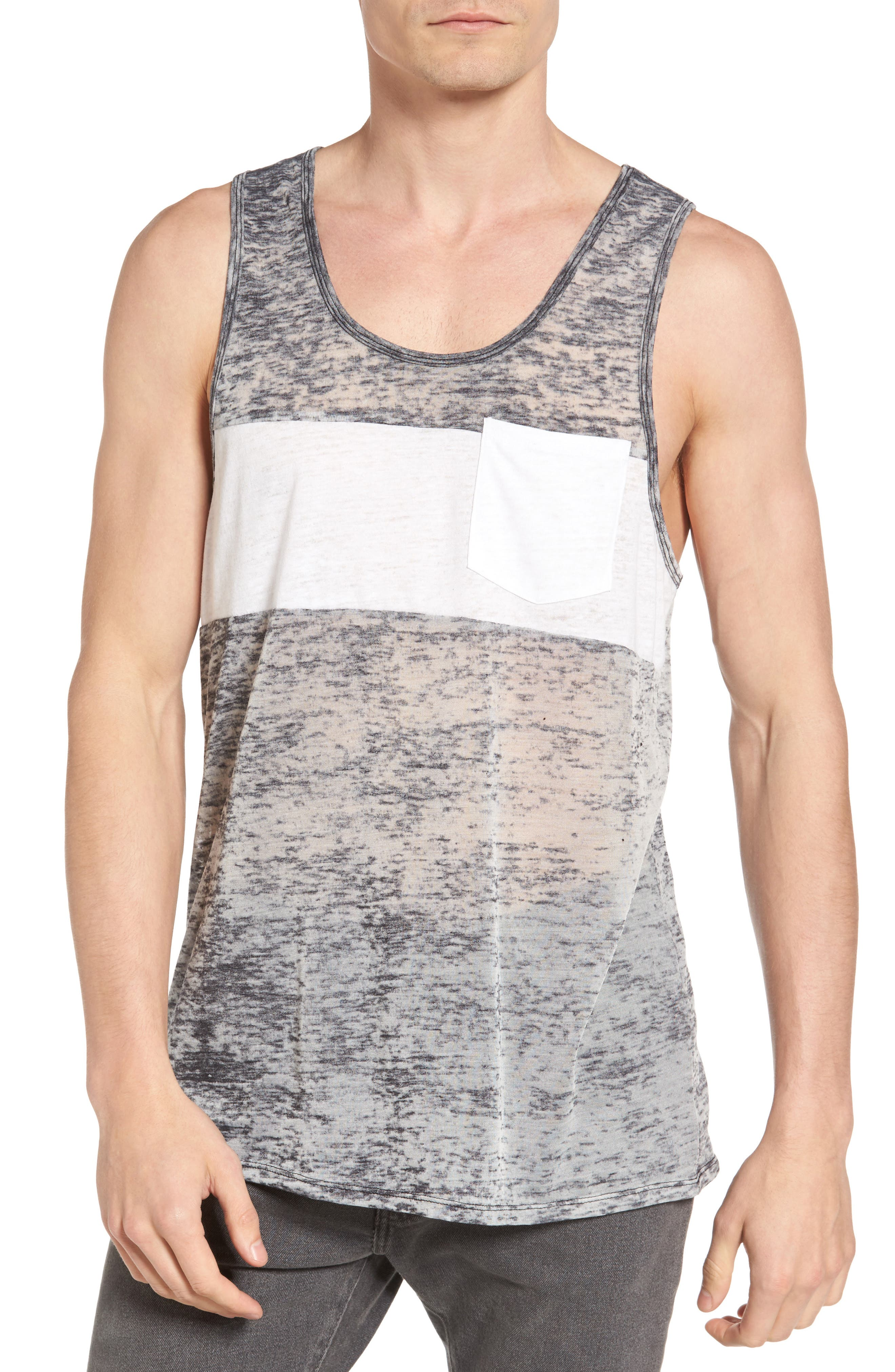 The Rail Chest Block Burnout Tank (2 for $30)
