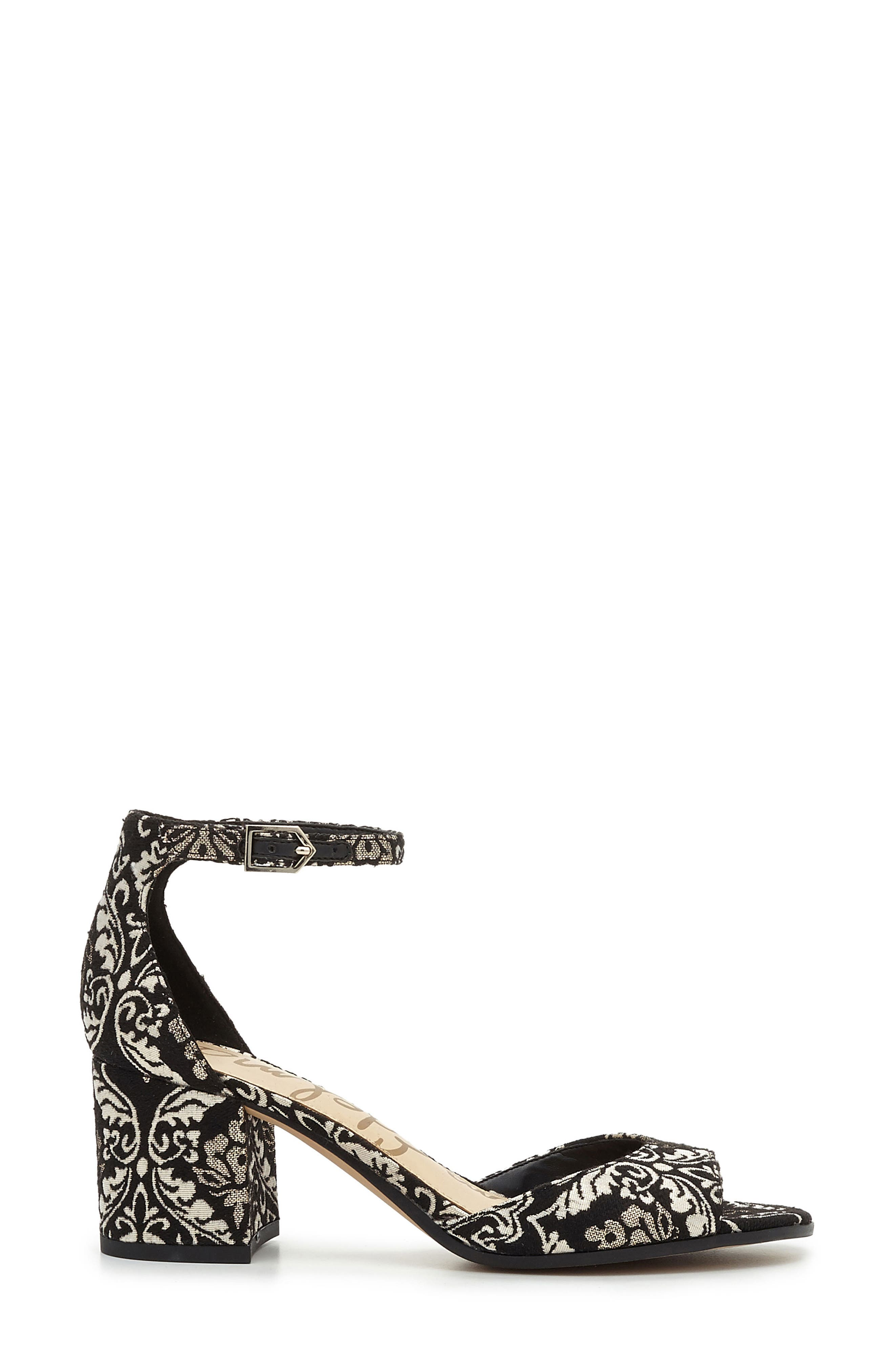 Alternate Image 3  - Sam Edelman Susie d'Orsay Ankle Strap Sandal (Women)