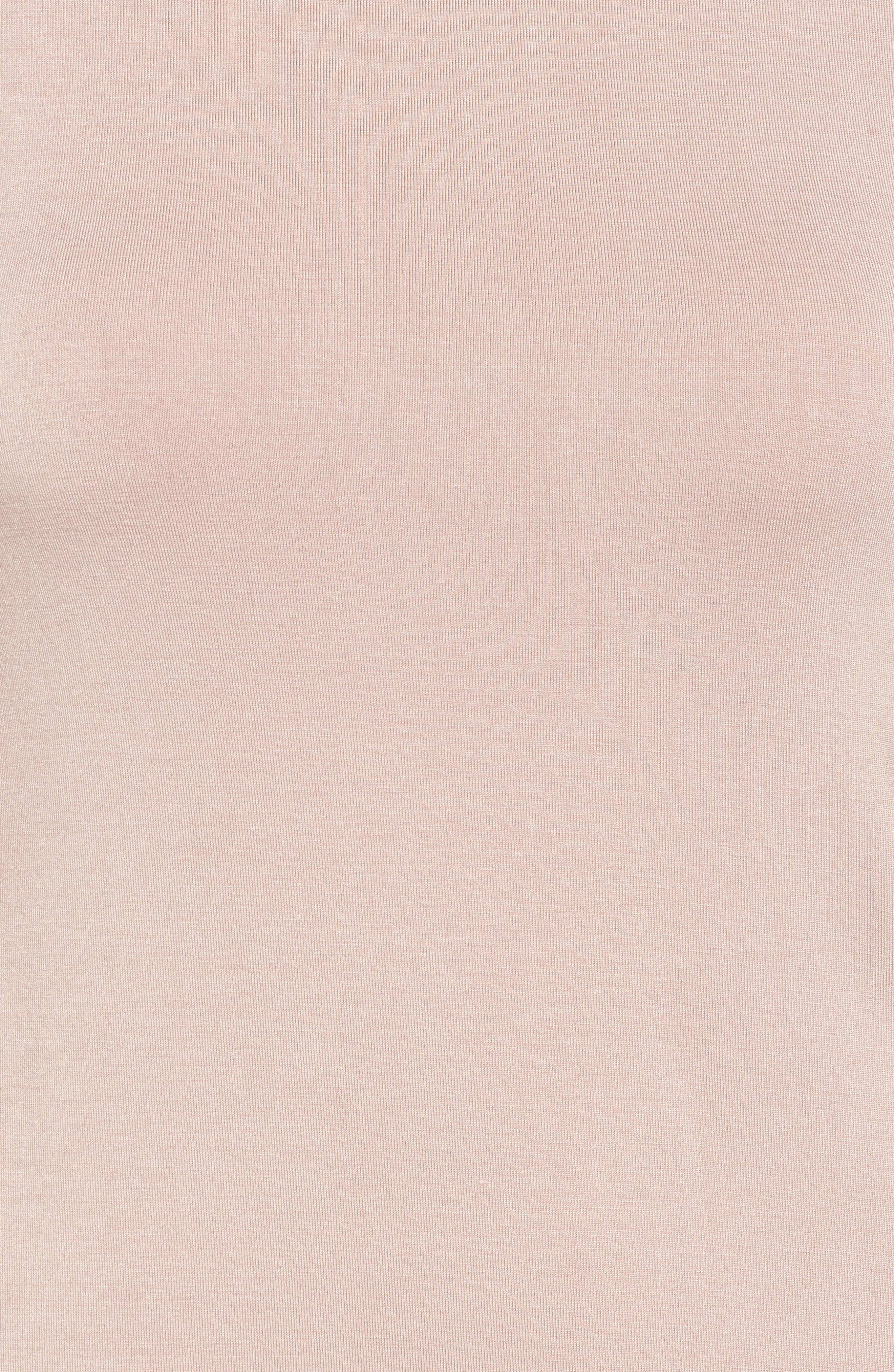 Alternate Image 5  - Socialite Ruffle Sleeve T-Shirt Dress