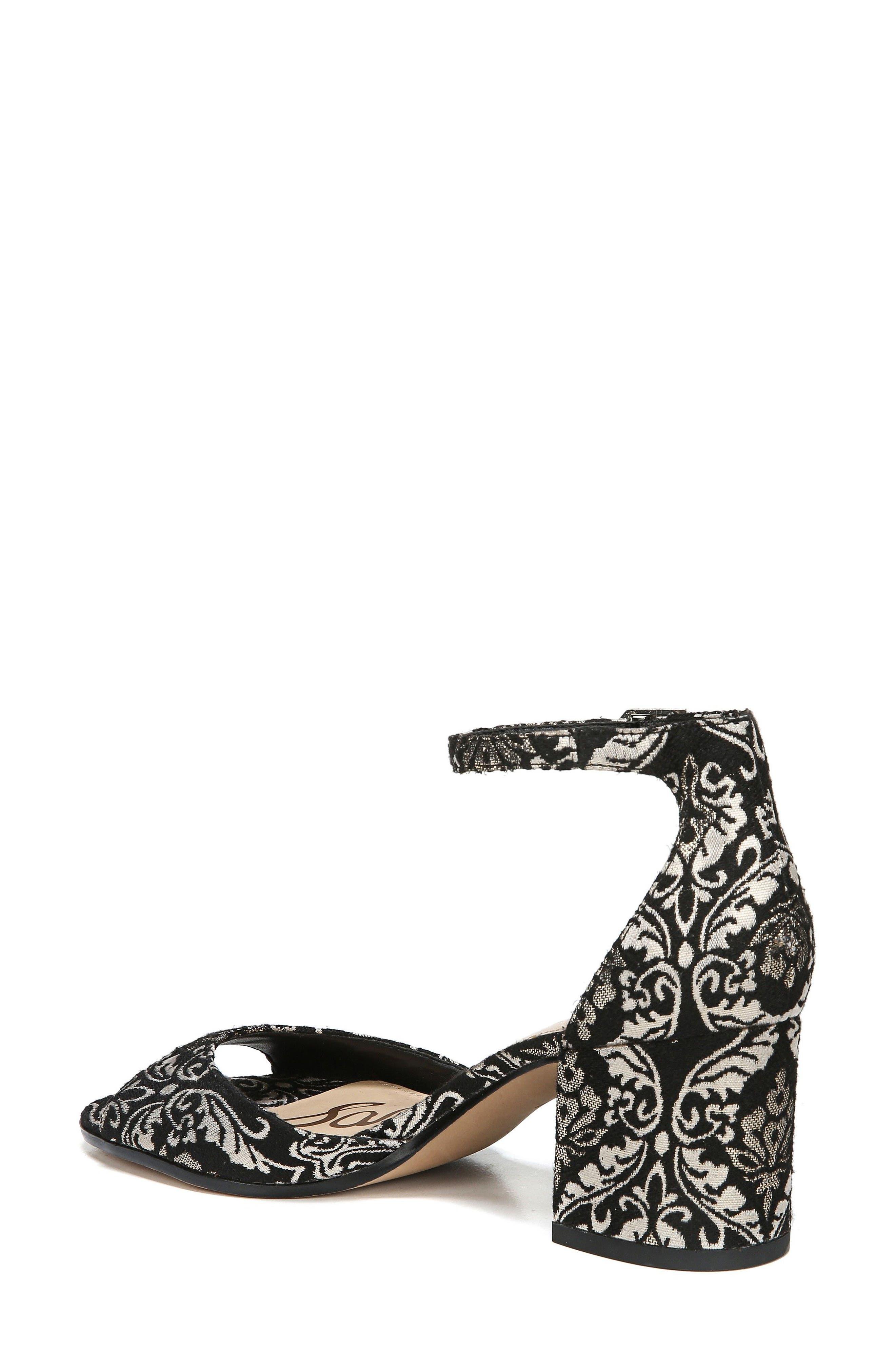 Alternate Image 2  - Sam Edelman Susie d'Orsay Ankle Strap Sandal (Women)
