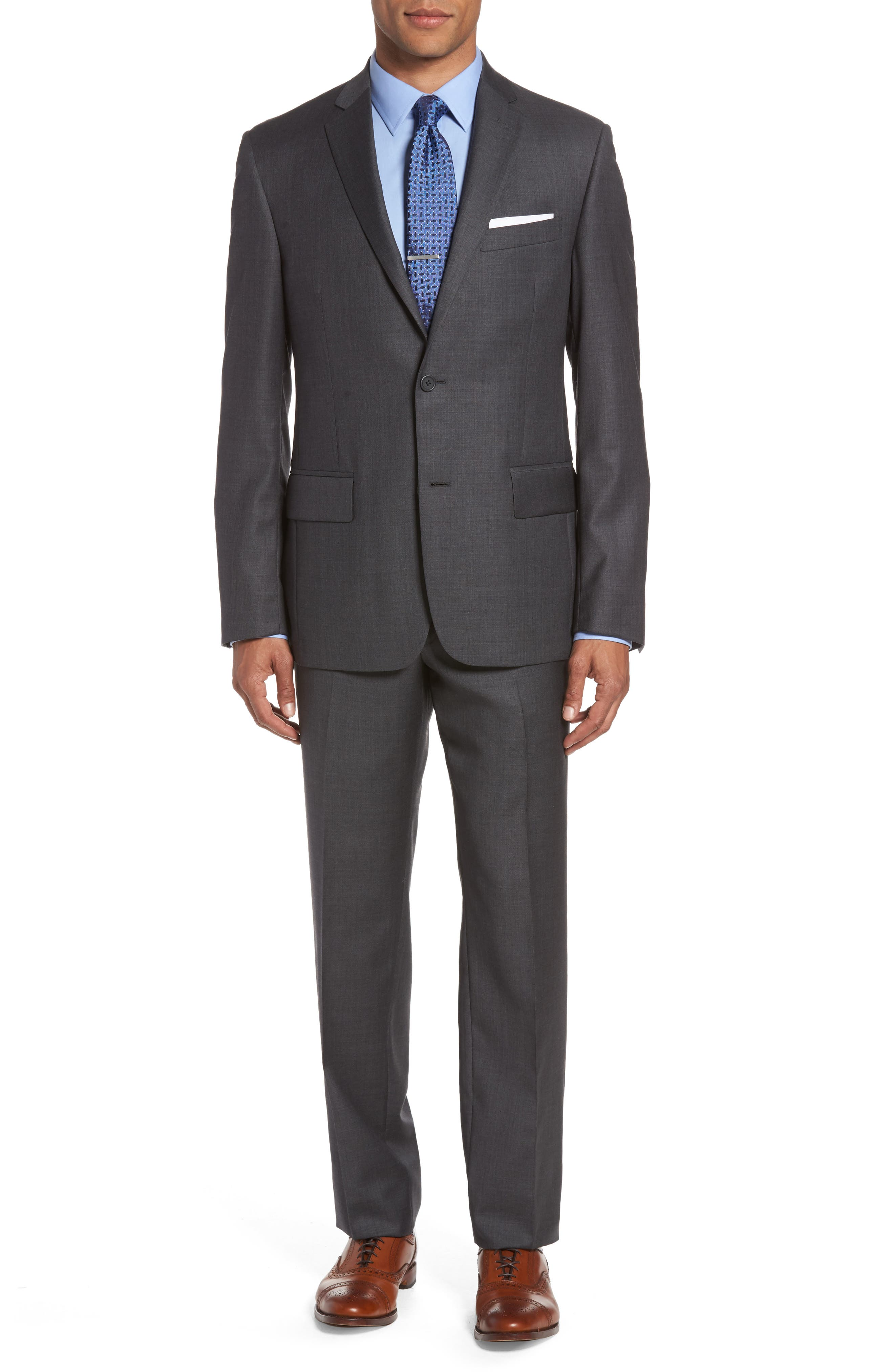Nordstrom Men's Shop Classic Fit Solid Wool Suit
