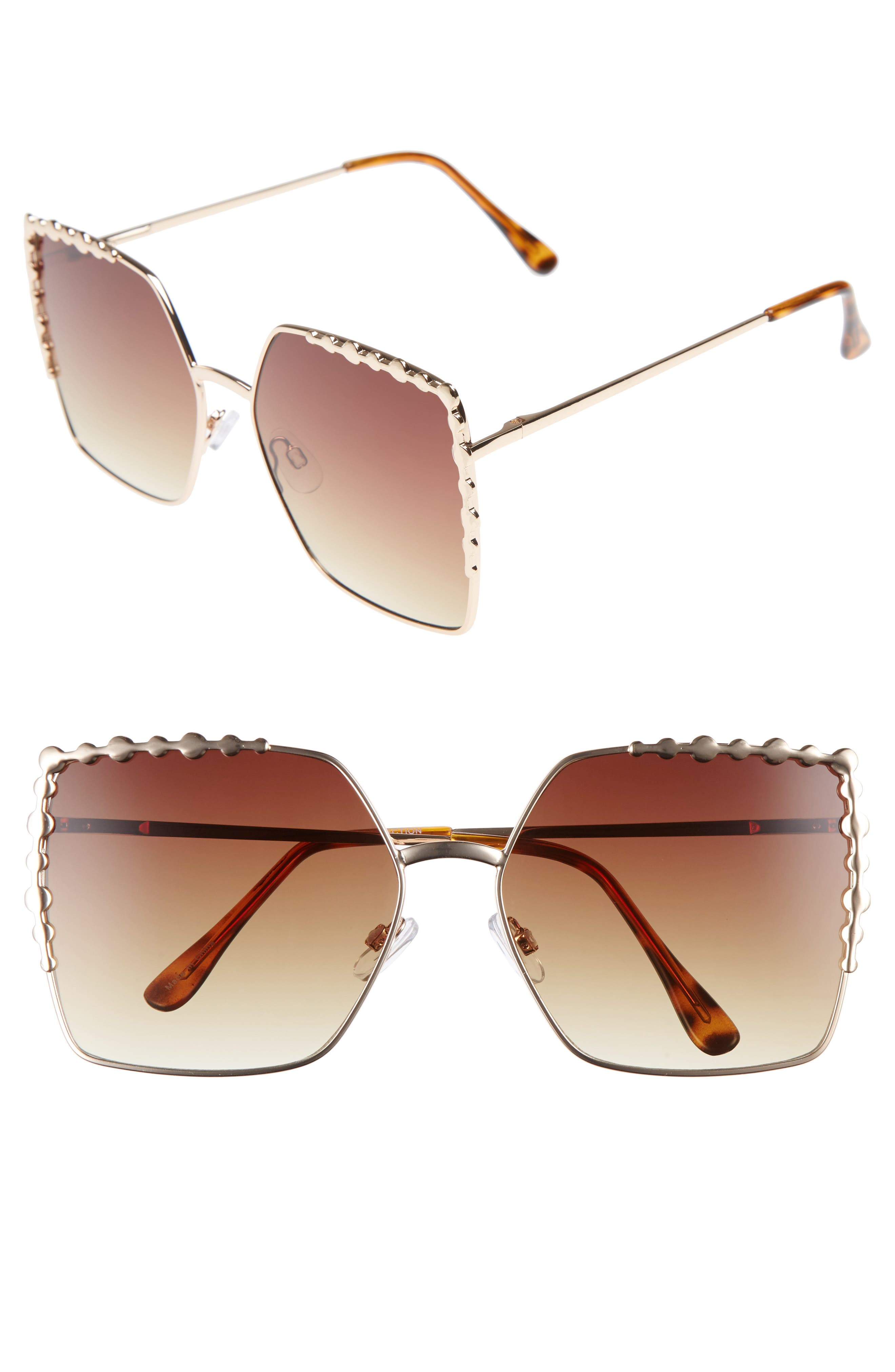 Alternate Image 1 Selected - BP. 60mm Square Sunglasses