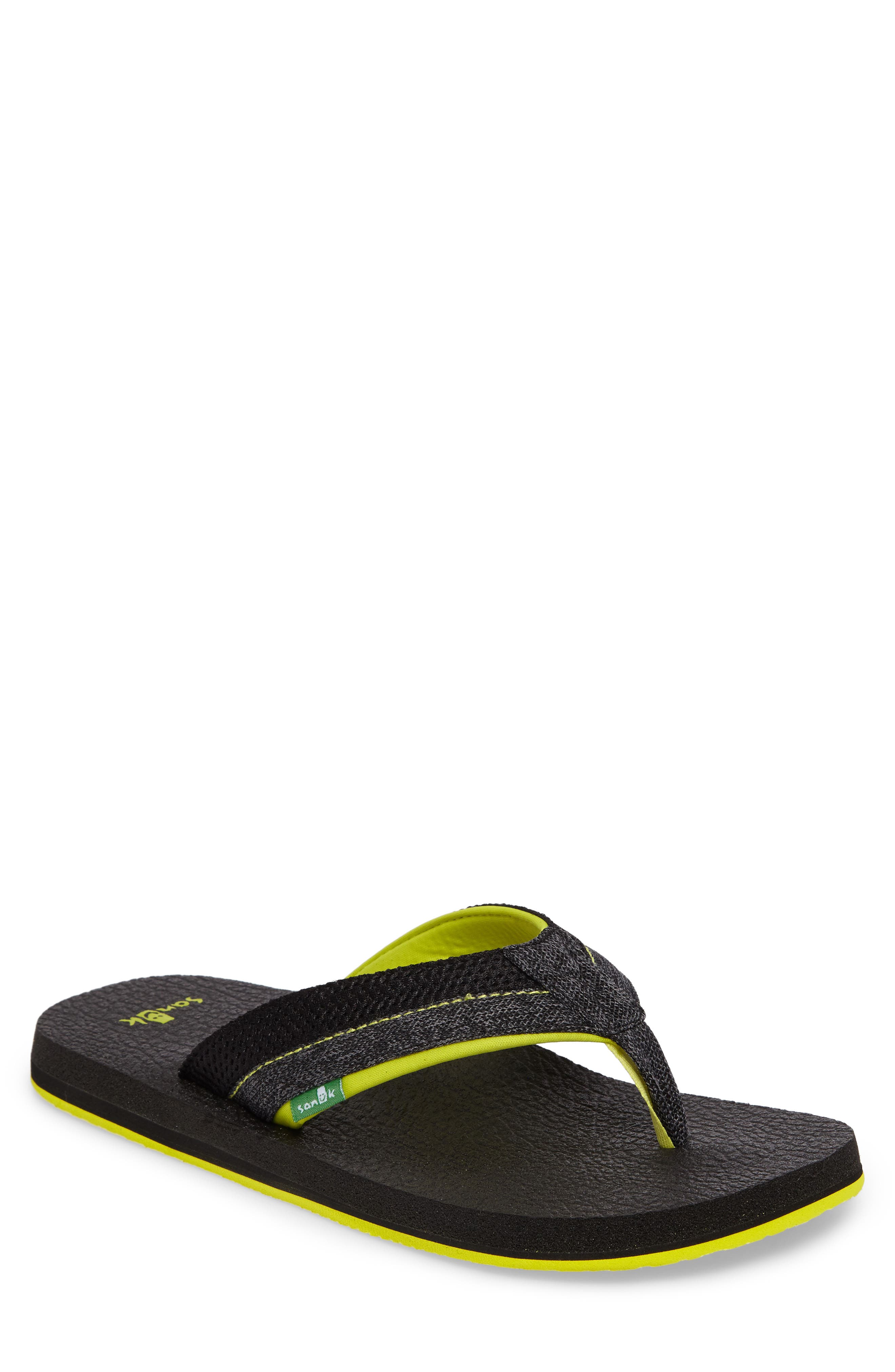 Sanuk Beer Cozy Flip Flop (Men)