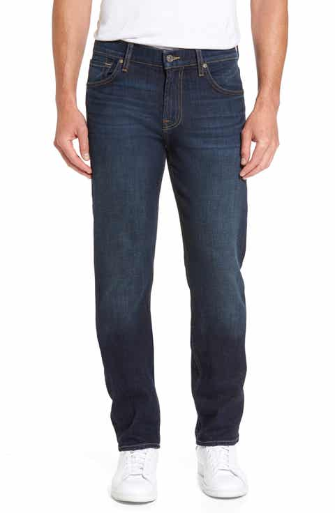 7 For All Mankind® The Straight Straight Leg Jeans (Covington)