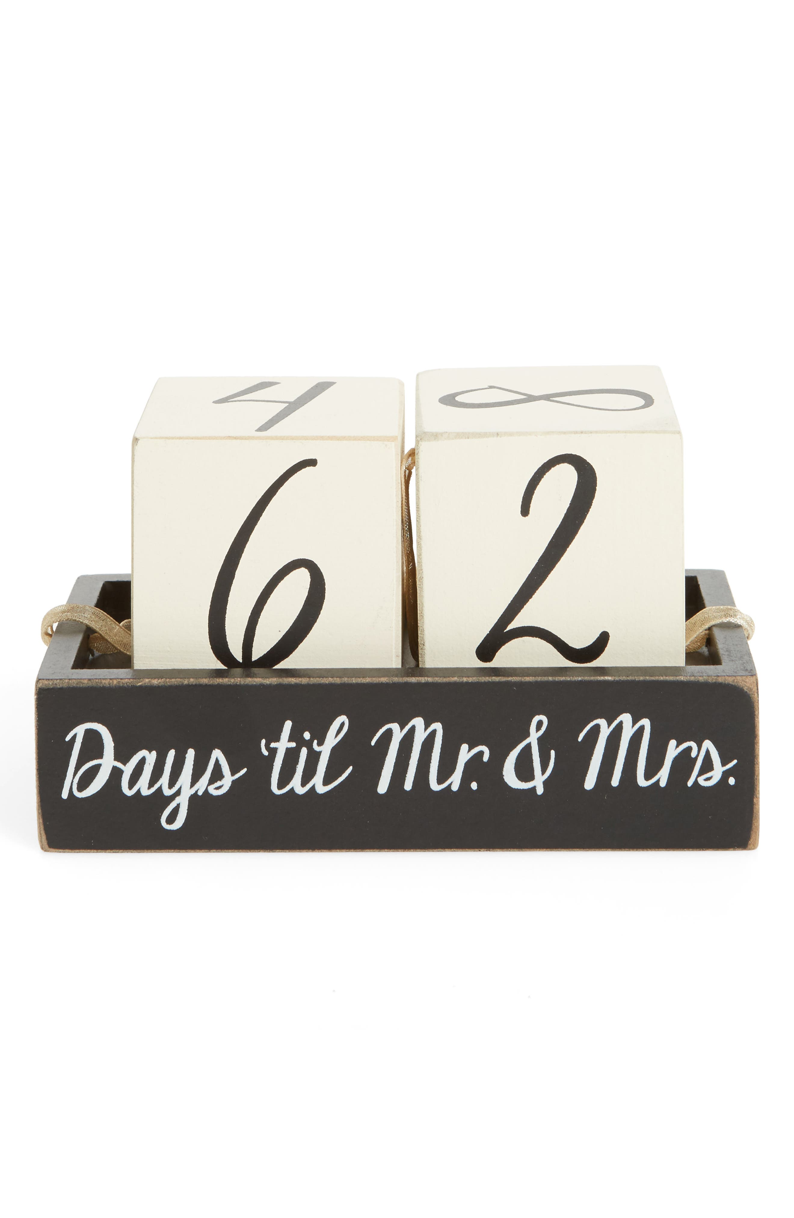 Primitives by Kathy Days 'Til Mr. & Mrs. Countdown Cubes