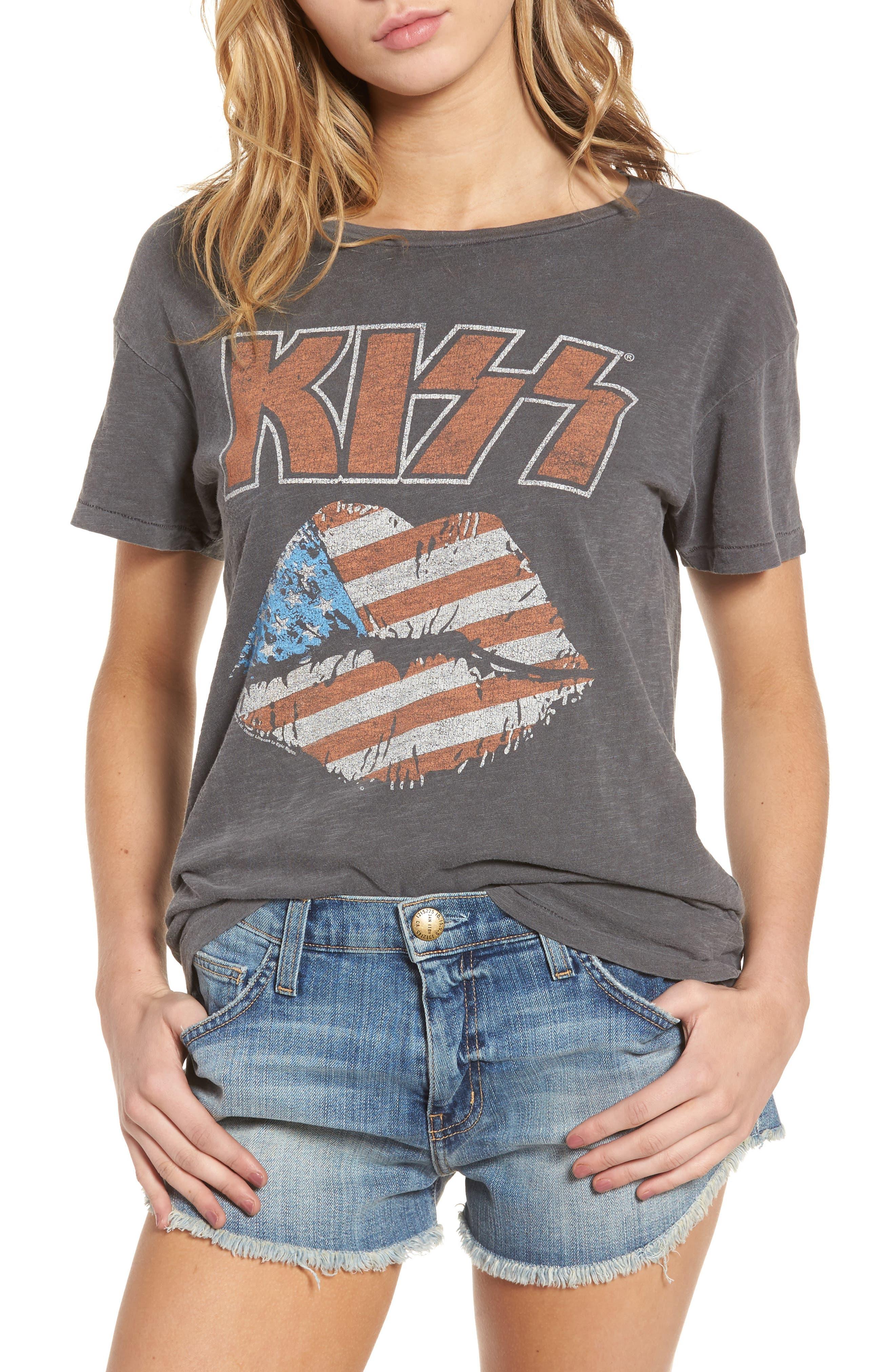 Junkfood KISS Concert Tee