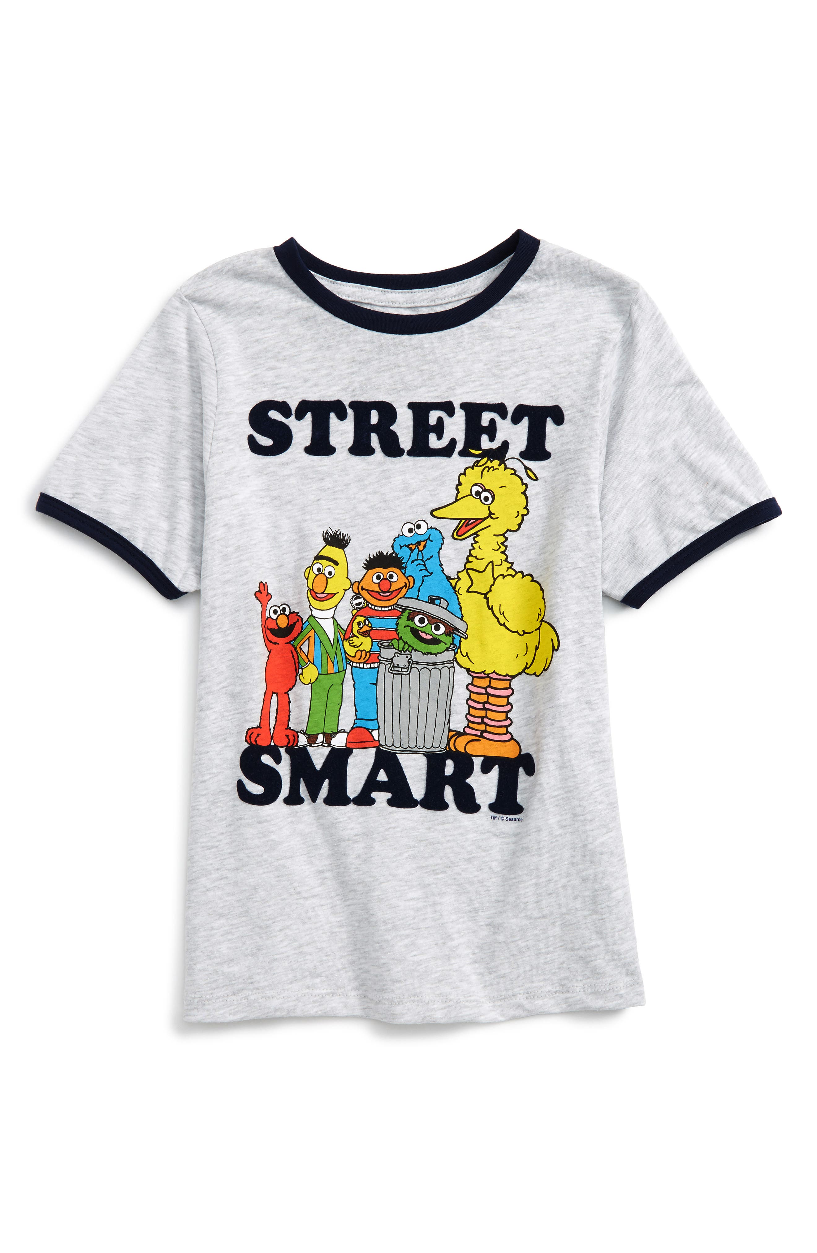 Mighty Fine x Sesame Street® Street Smart T-Shirt (Toddler Boys & Little Boys)