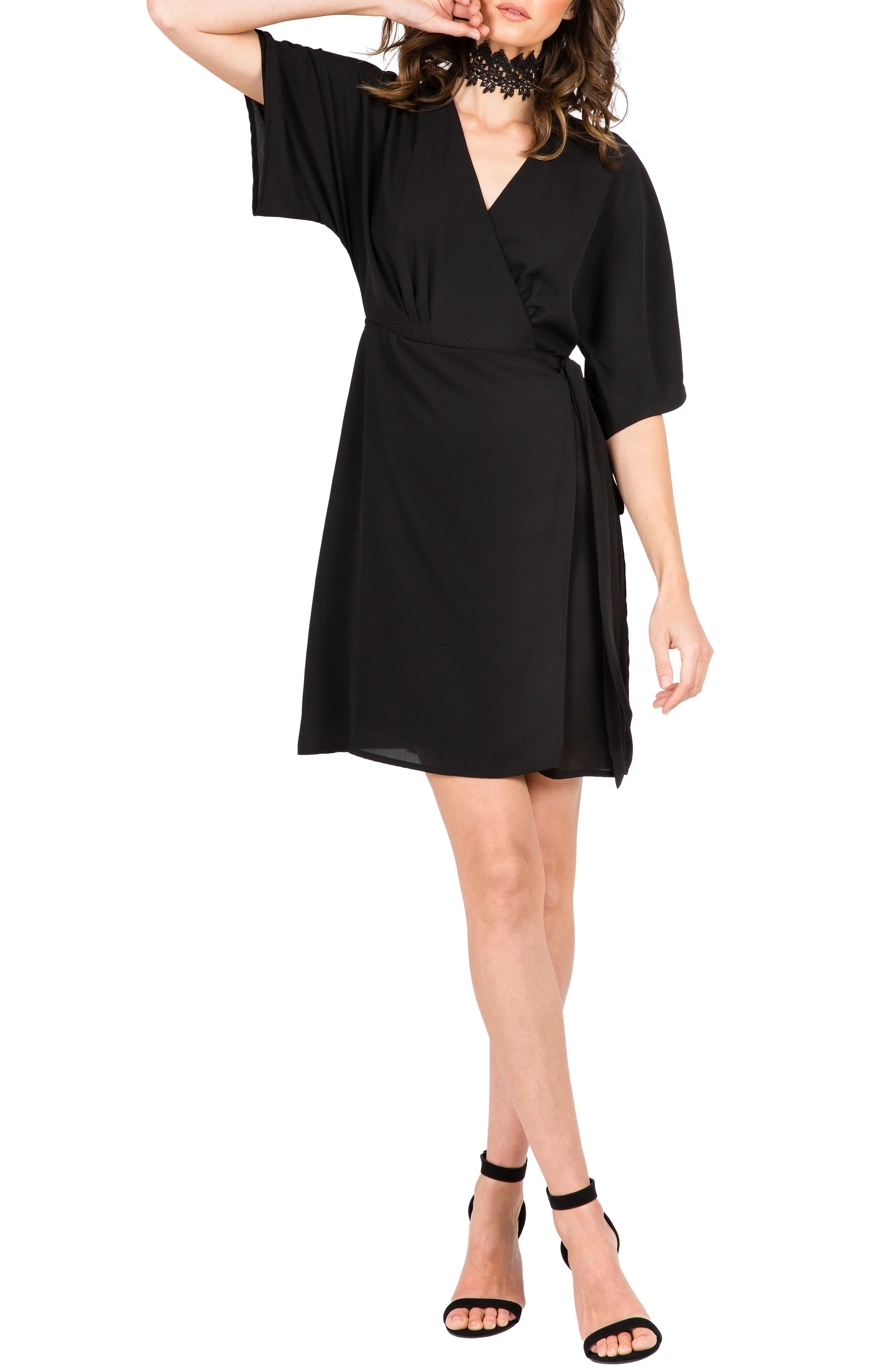 Standards & Practices Candice Georgette Wrap Dress