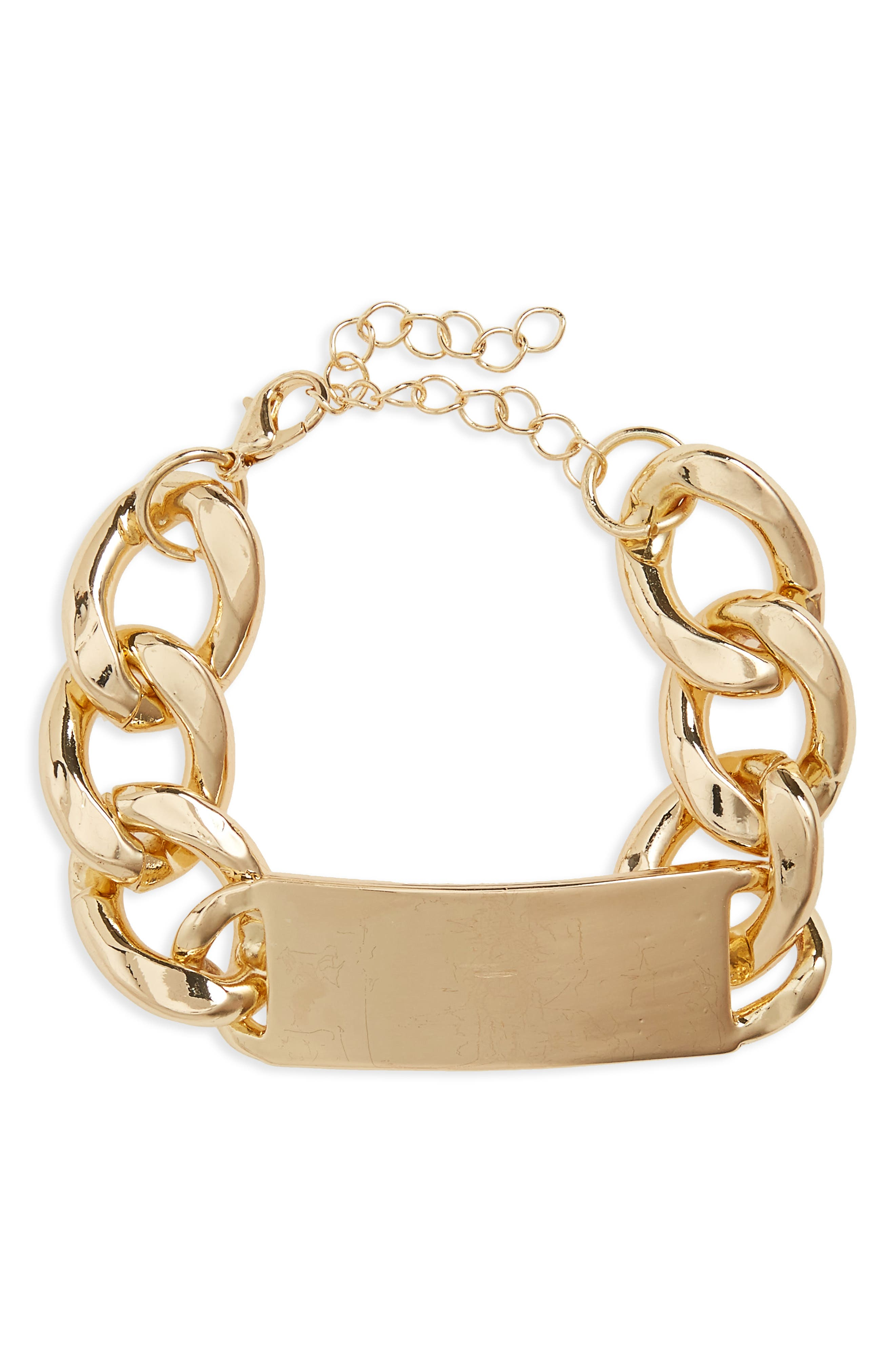 BP. Curb Chain ID Bracelet