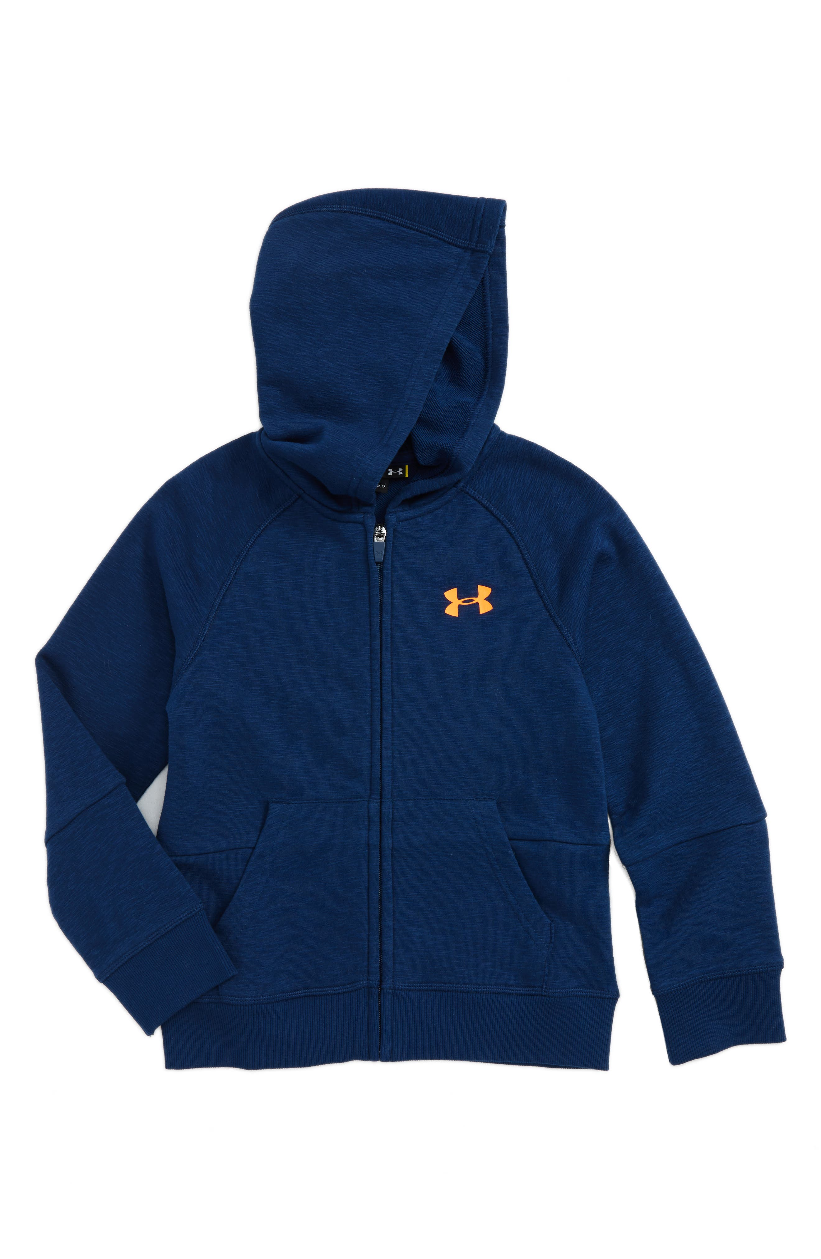 Under Armour Color Pop Logo Sweatshirt Hoodie (Toddler Boys & Little Boys)