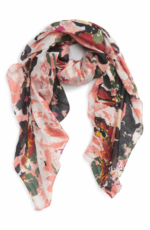 Sole Society Abstract Print Scarf