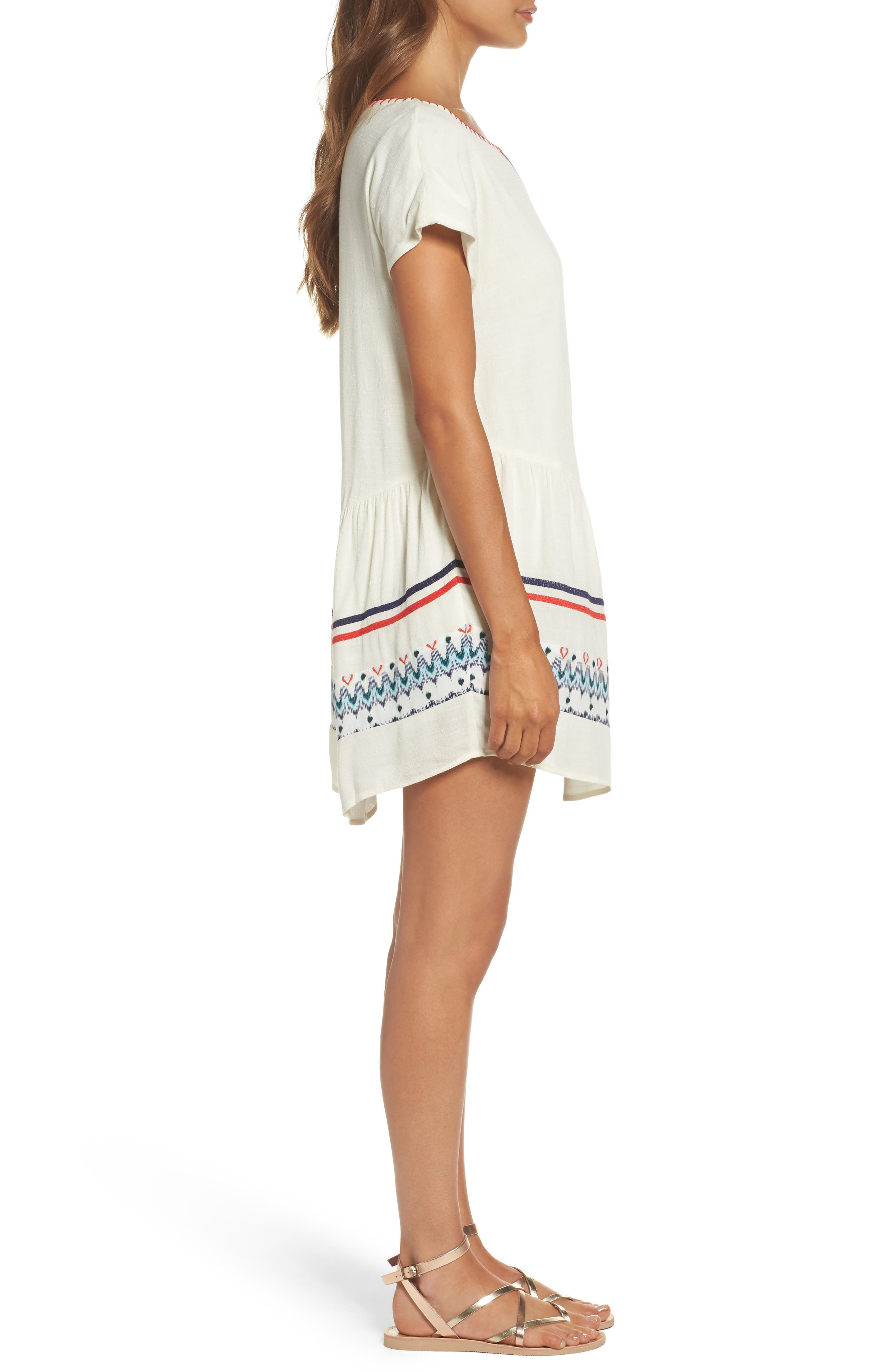 Alternate Image 3  - THML Embroidered Tunic Dress