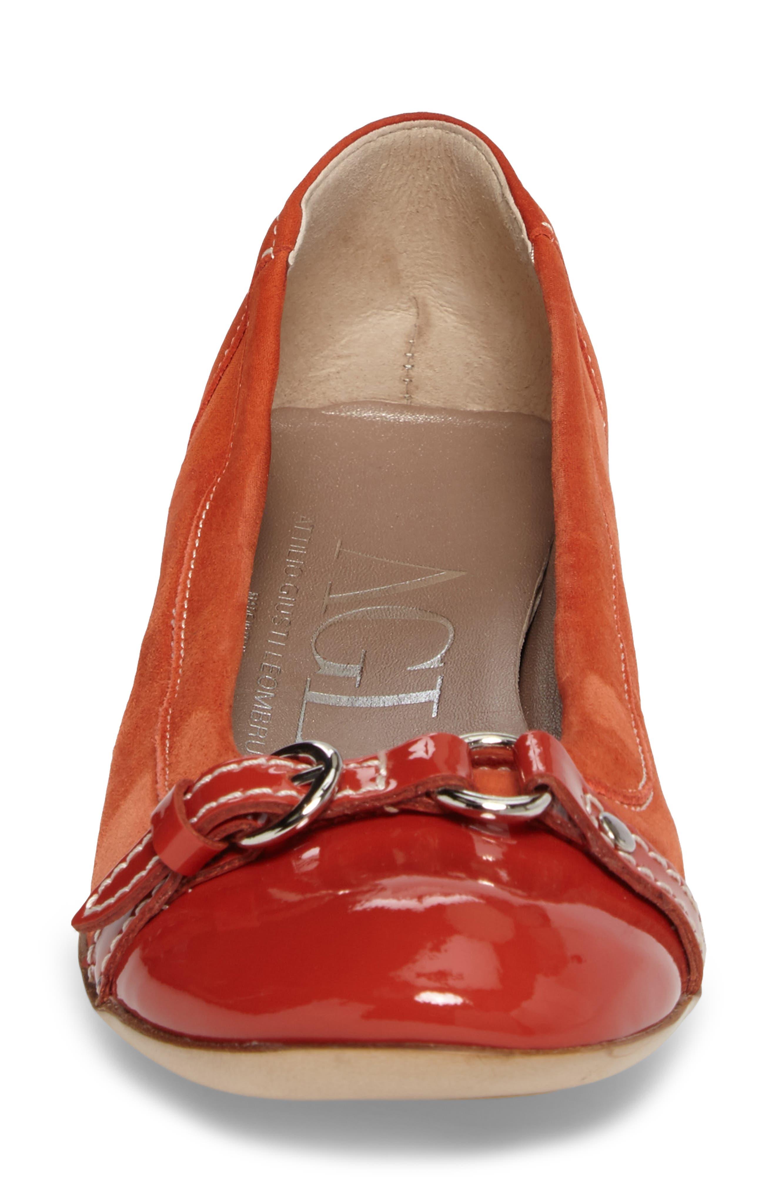 Alternate Image 4  - AGL Cap Toe Ballet Flat (Women)