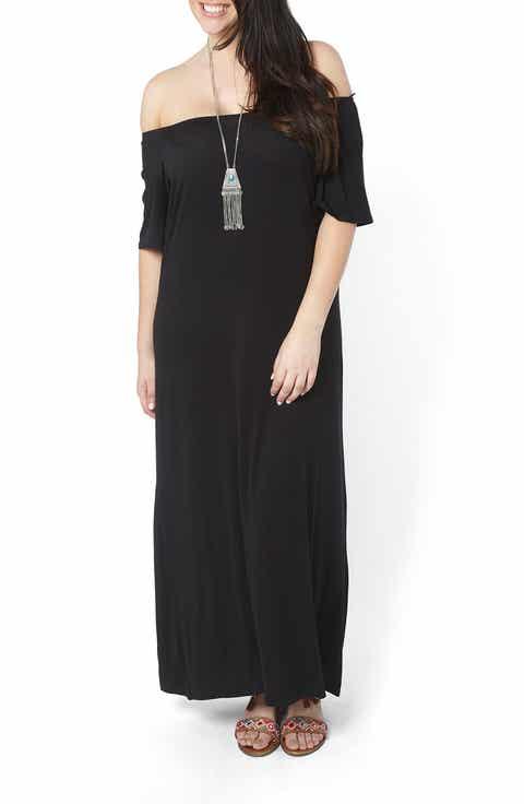 Evans Convertible Maxi Dress (Plus Size)