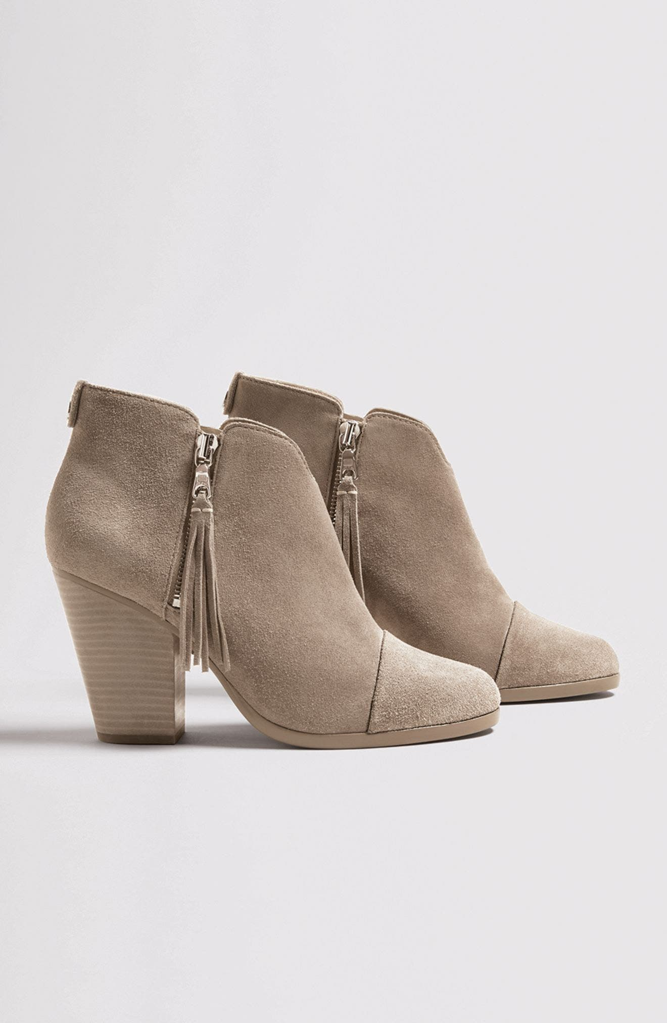 Alternate Image 7  - rag & bone Margot Fringe Cap Toe Bootie (Women)
