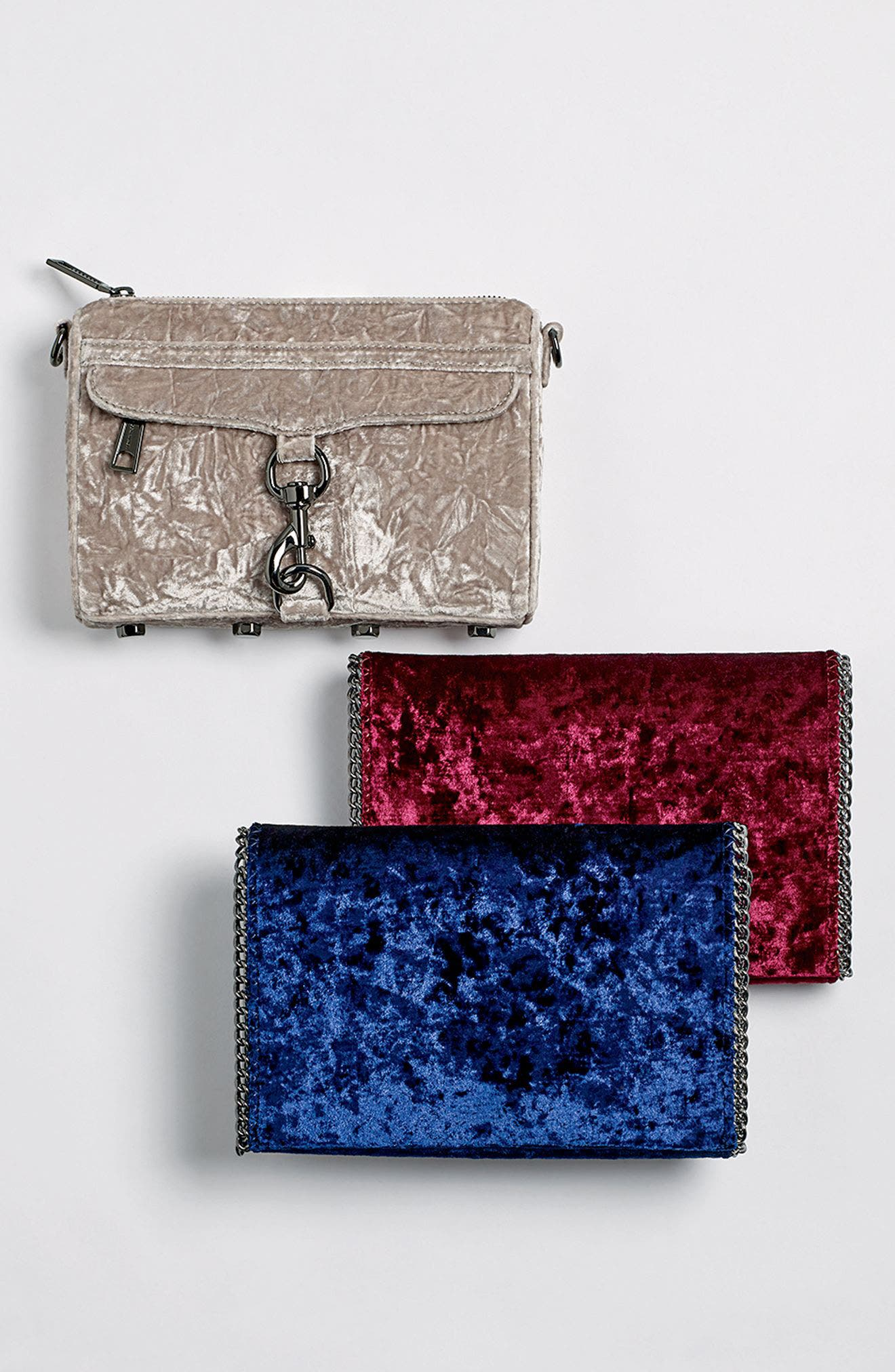 Alternate Image 8  - Rebecca Minkoff Mini MAC Velvet Convertible Crossbody Bag (Nordstrom Exclusive)
