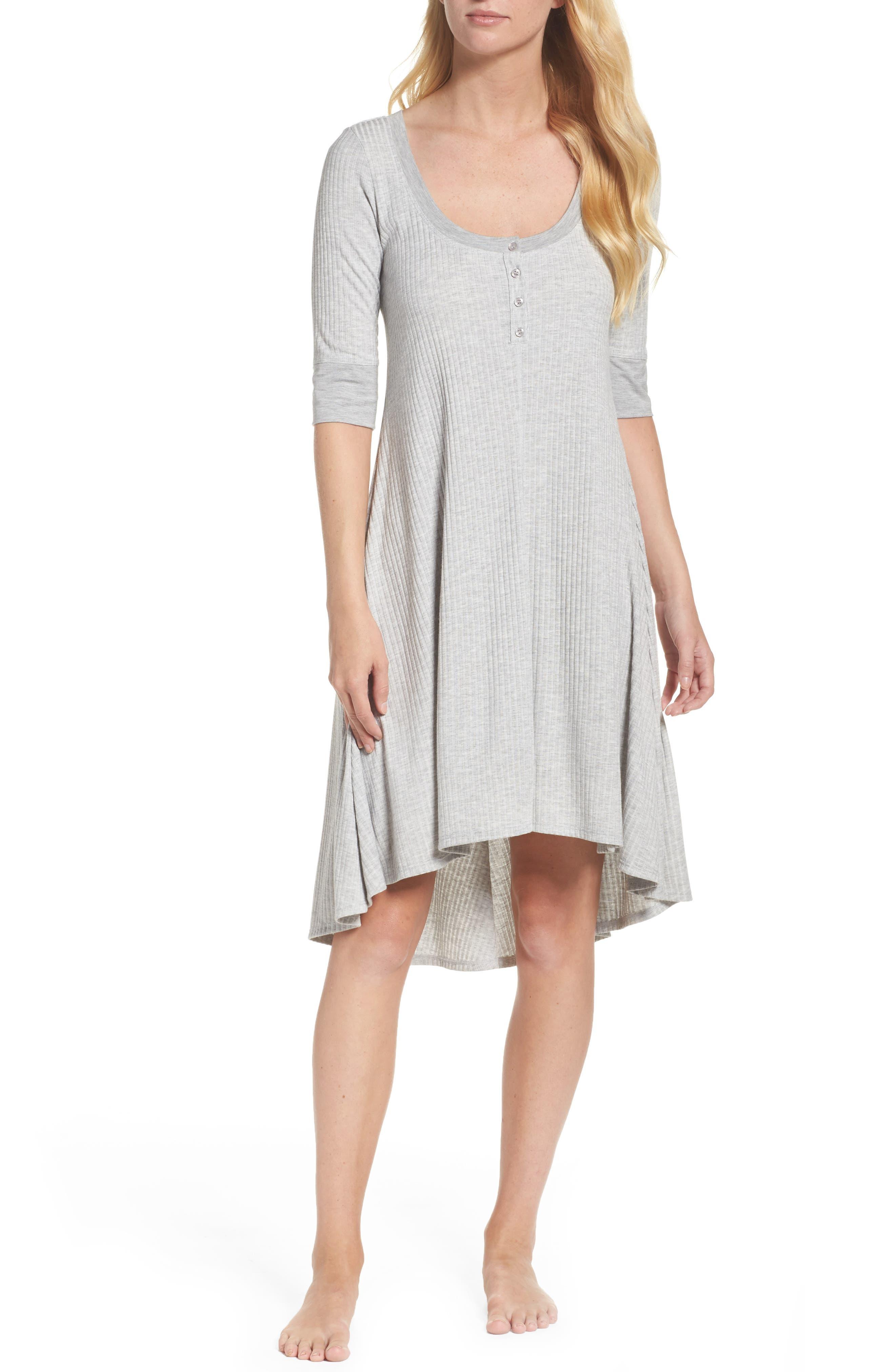 Felina Chelsea Henley Nightgown