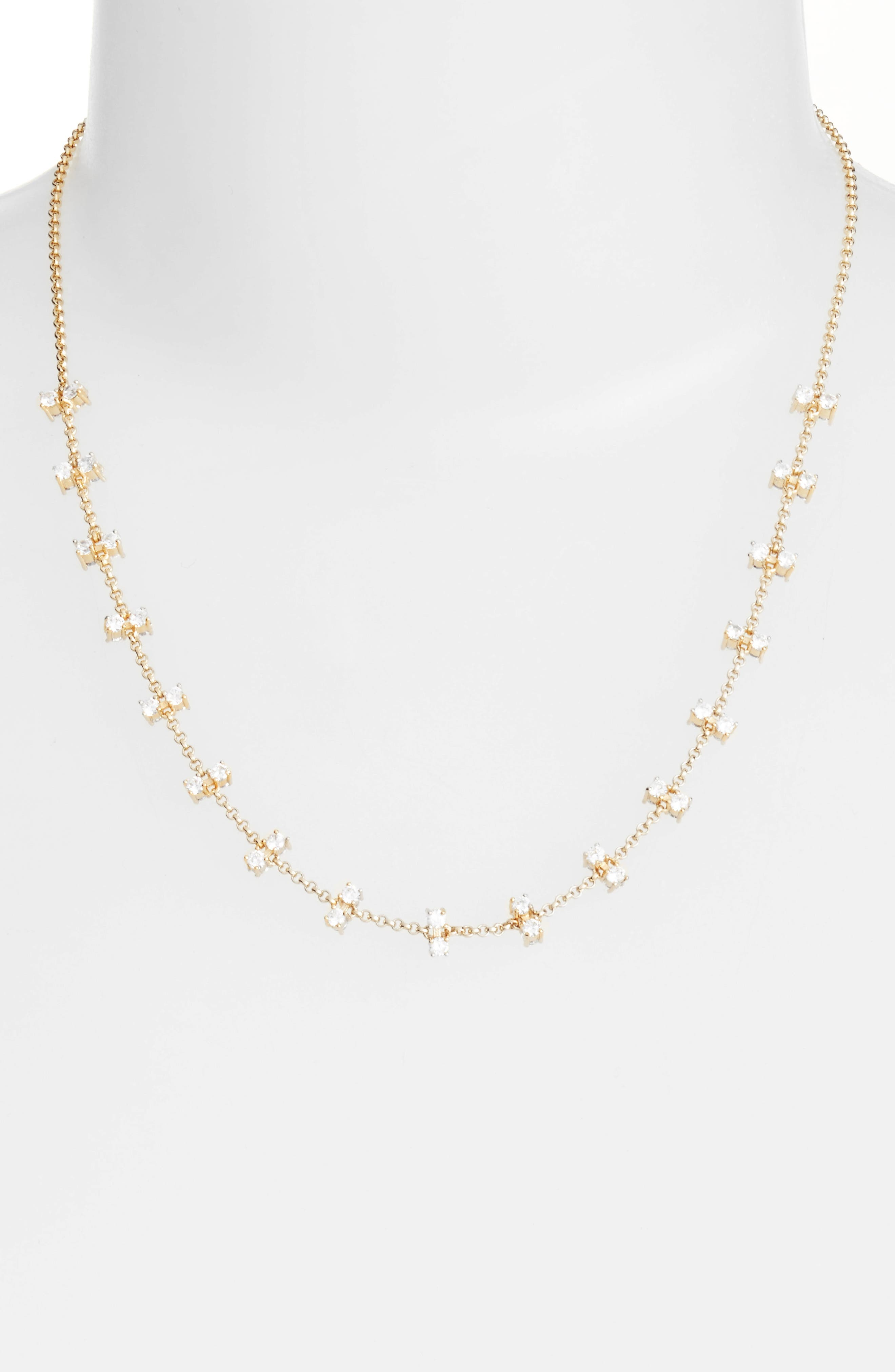 Melinda Maria Elizabeth Station Necklace