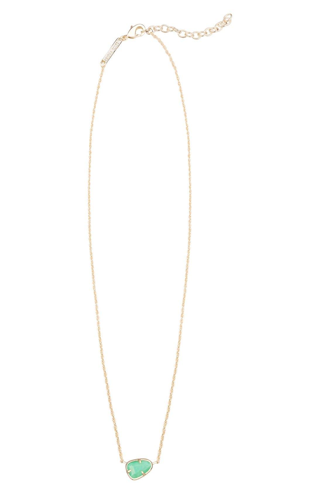 Alternate Image 1 Selected - Kendra Scott 'Hayden' Pendant Necklace