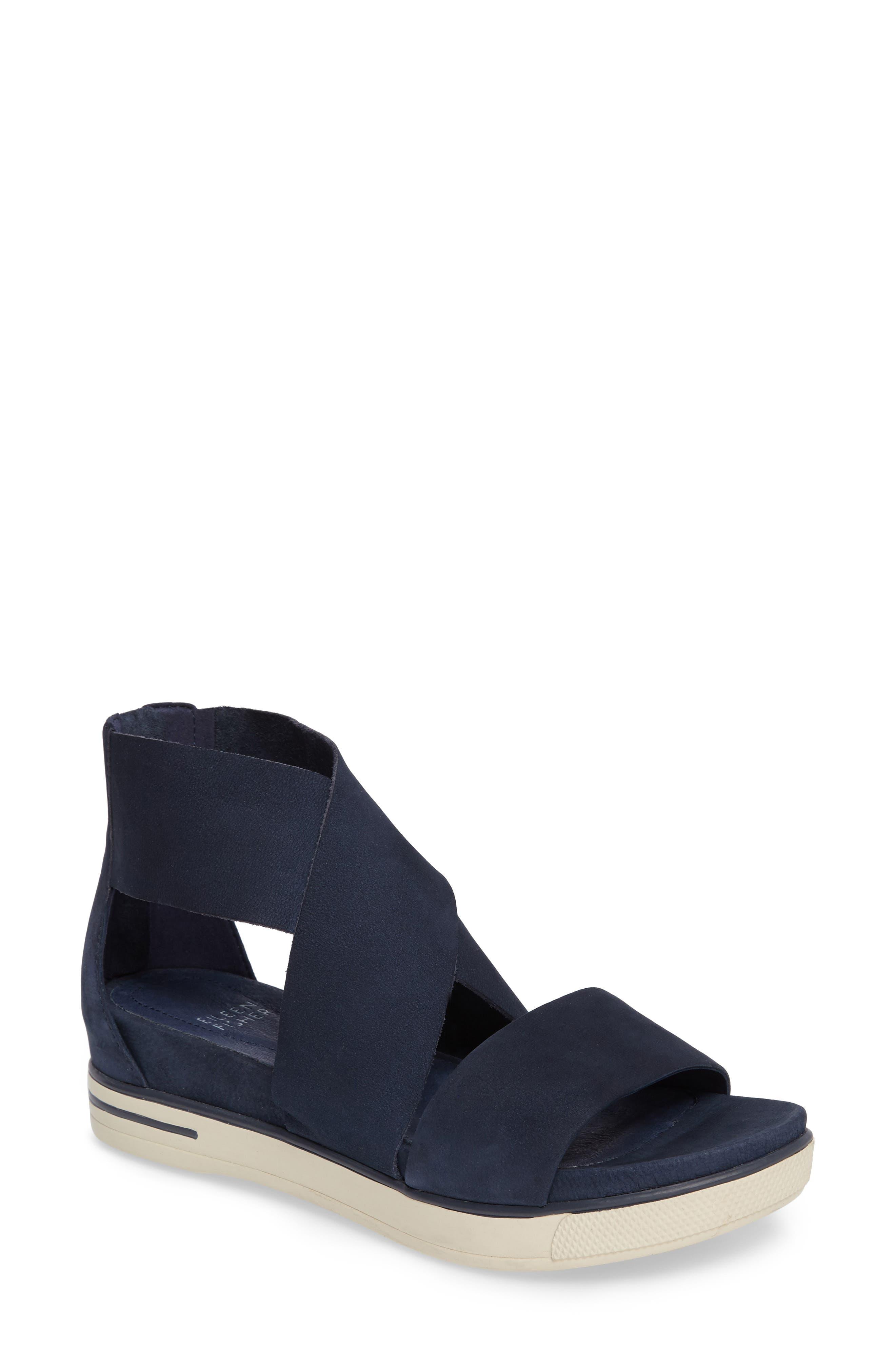 Alternate Image 1 Selected - Eileen Fisher Sport Platform Sandal