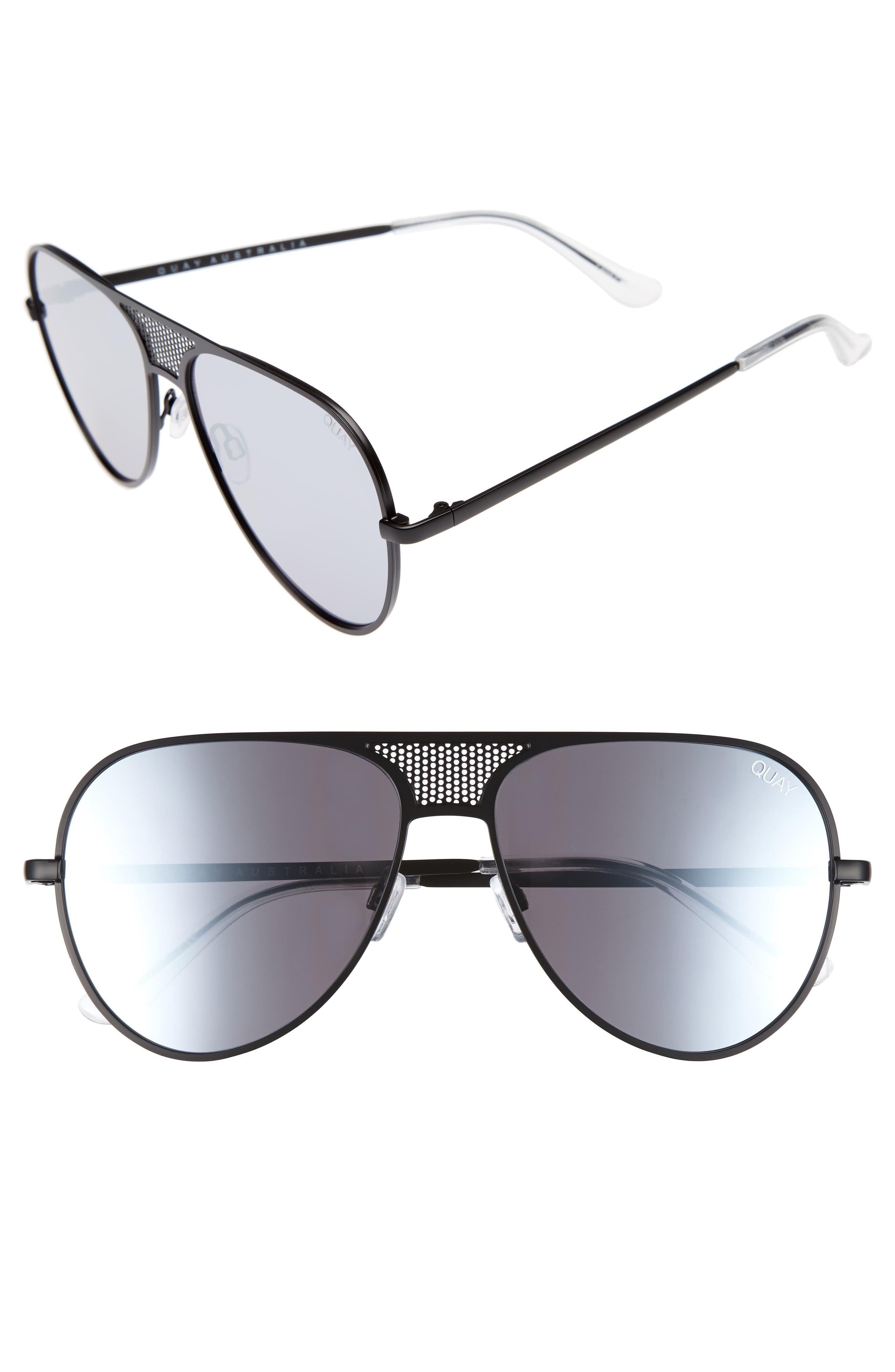 #QUAYxKYLIE Iconic 60mm Aviator Sunglasses