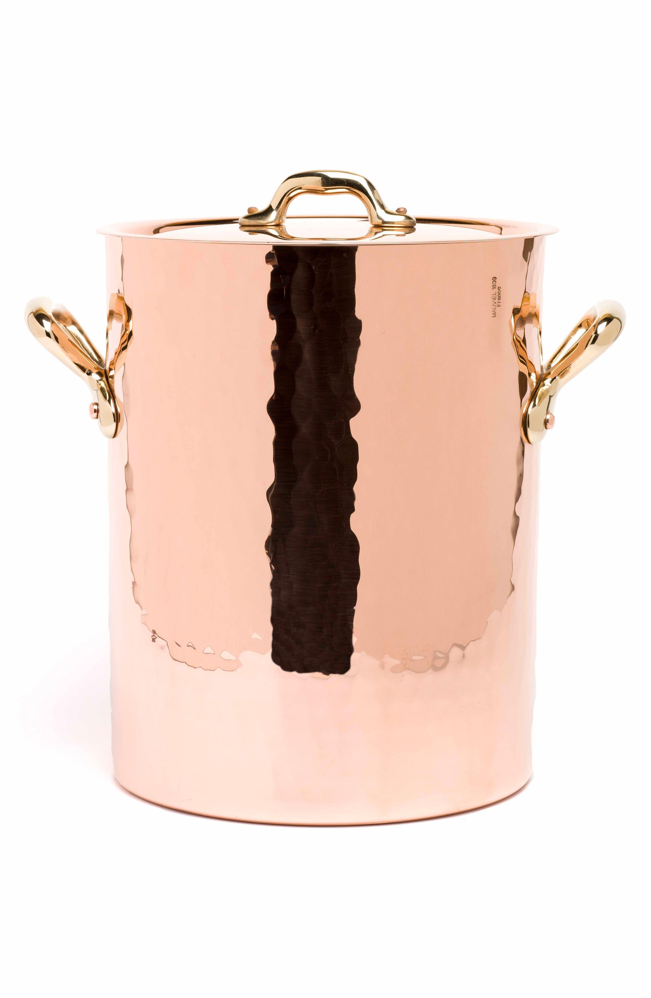 Mauviel M'tradition Copper Soup Pot