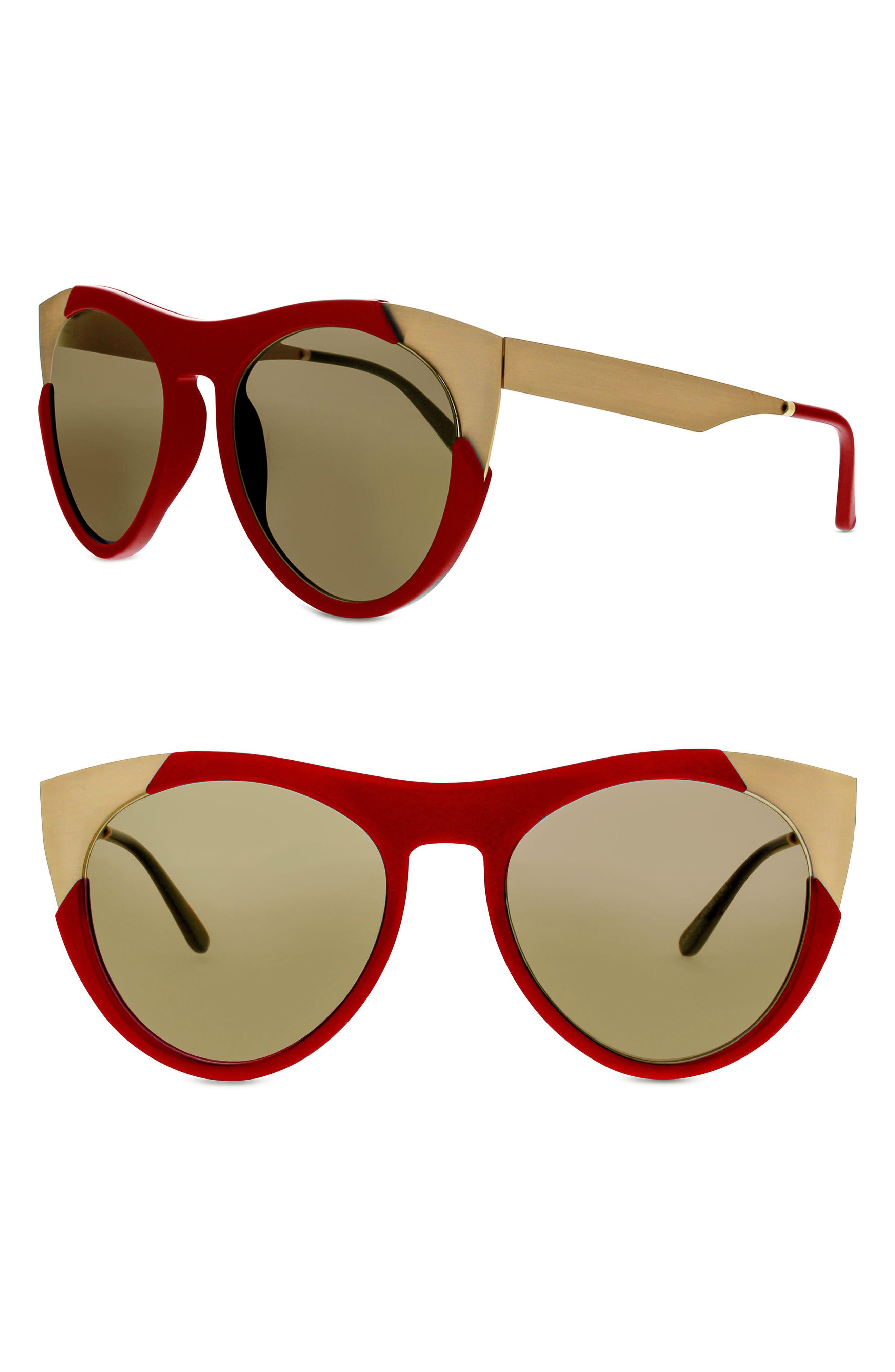 SMOKE X MIRRORS Zoubisou 53mm Cat Eye Sunglasses