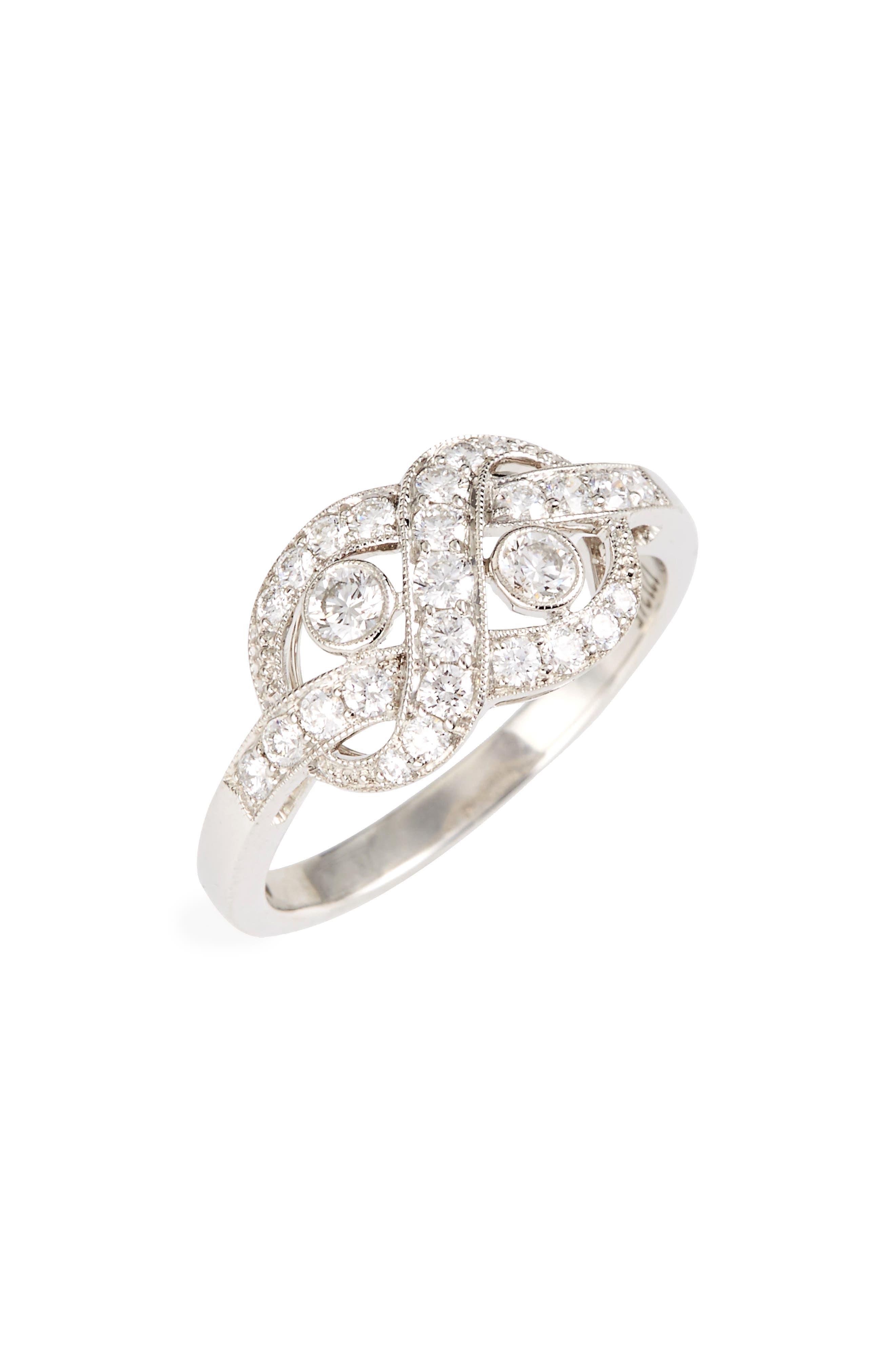Kwiat Diamond Knot Ring