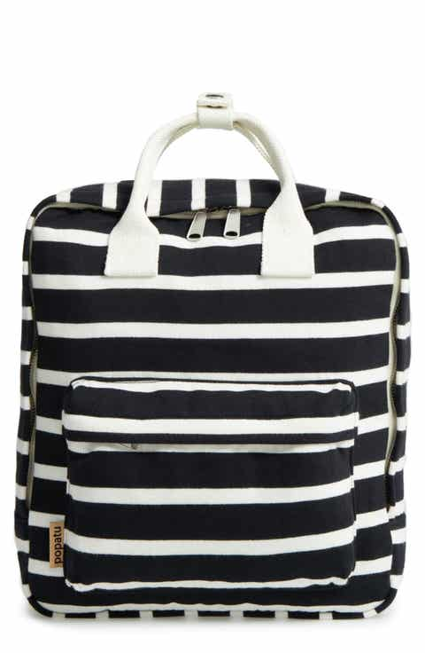 Popatu Stripe Jersey Knit Backpack (Kids)