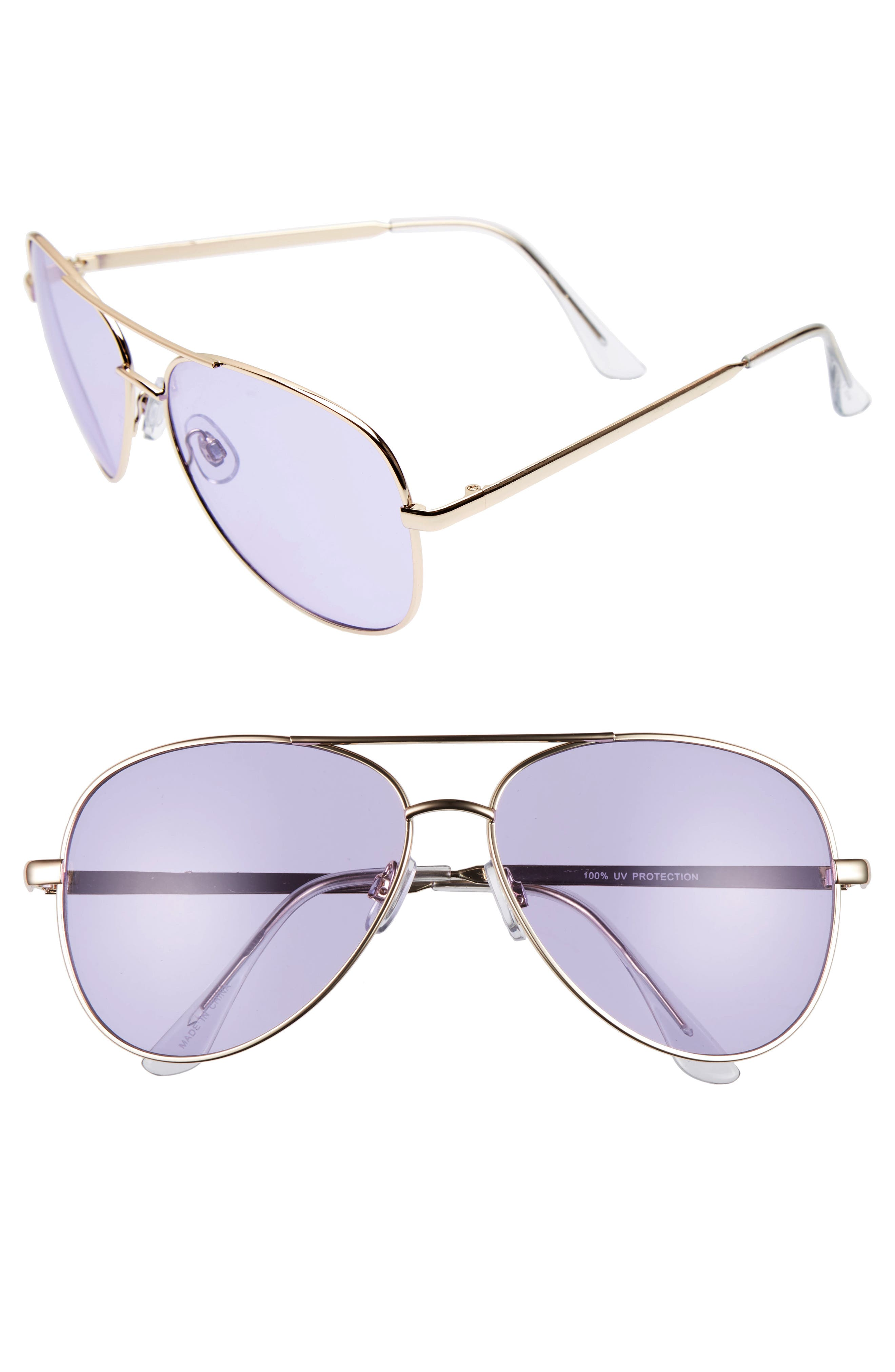 BP. Tinted Aviator Sunglasses