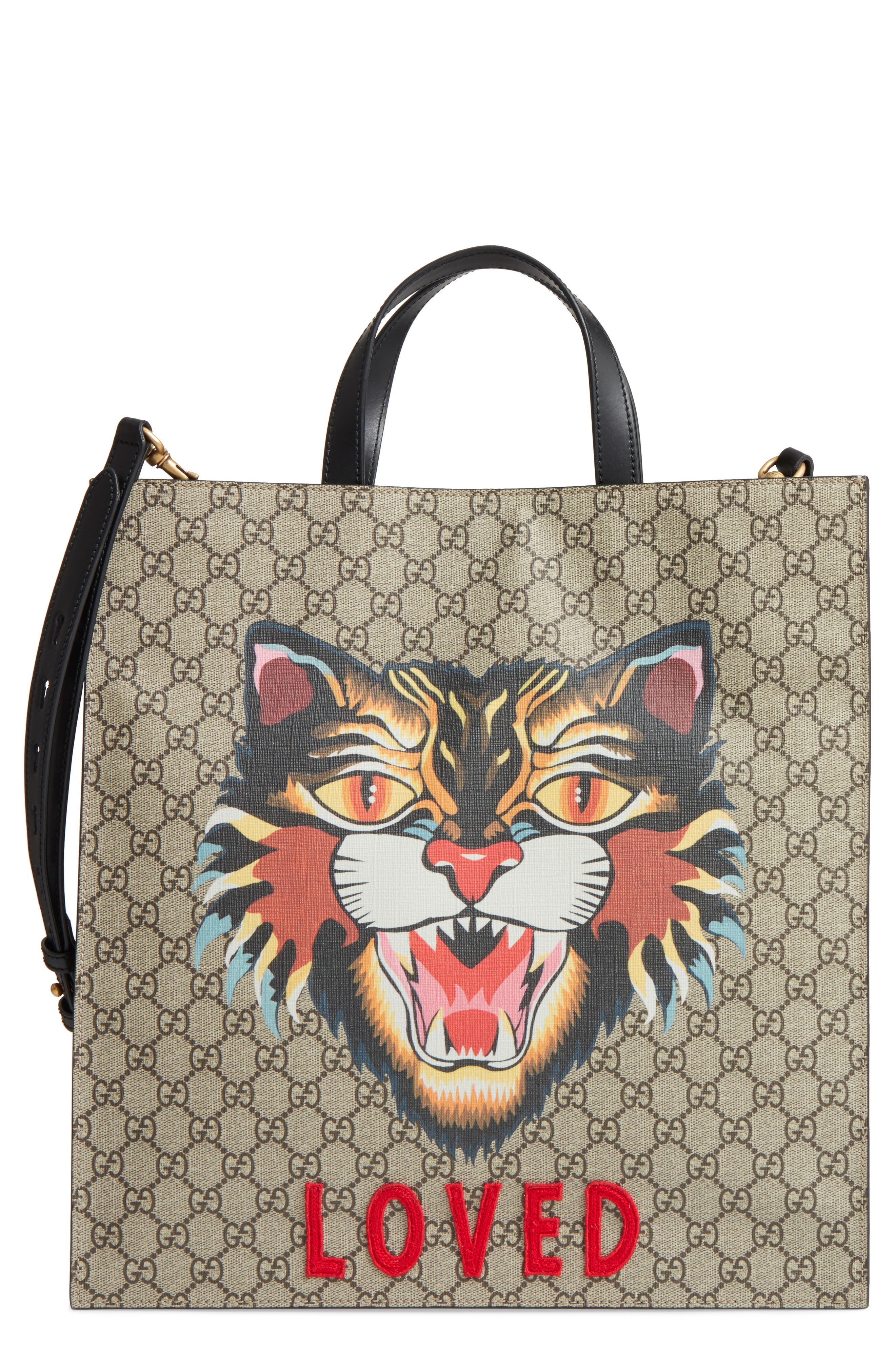 Gucci Angry Cat Tote