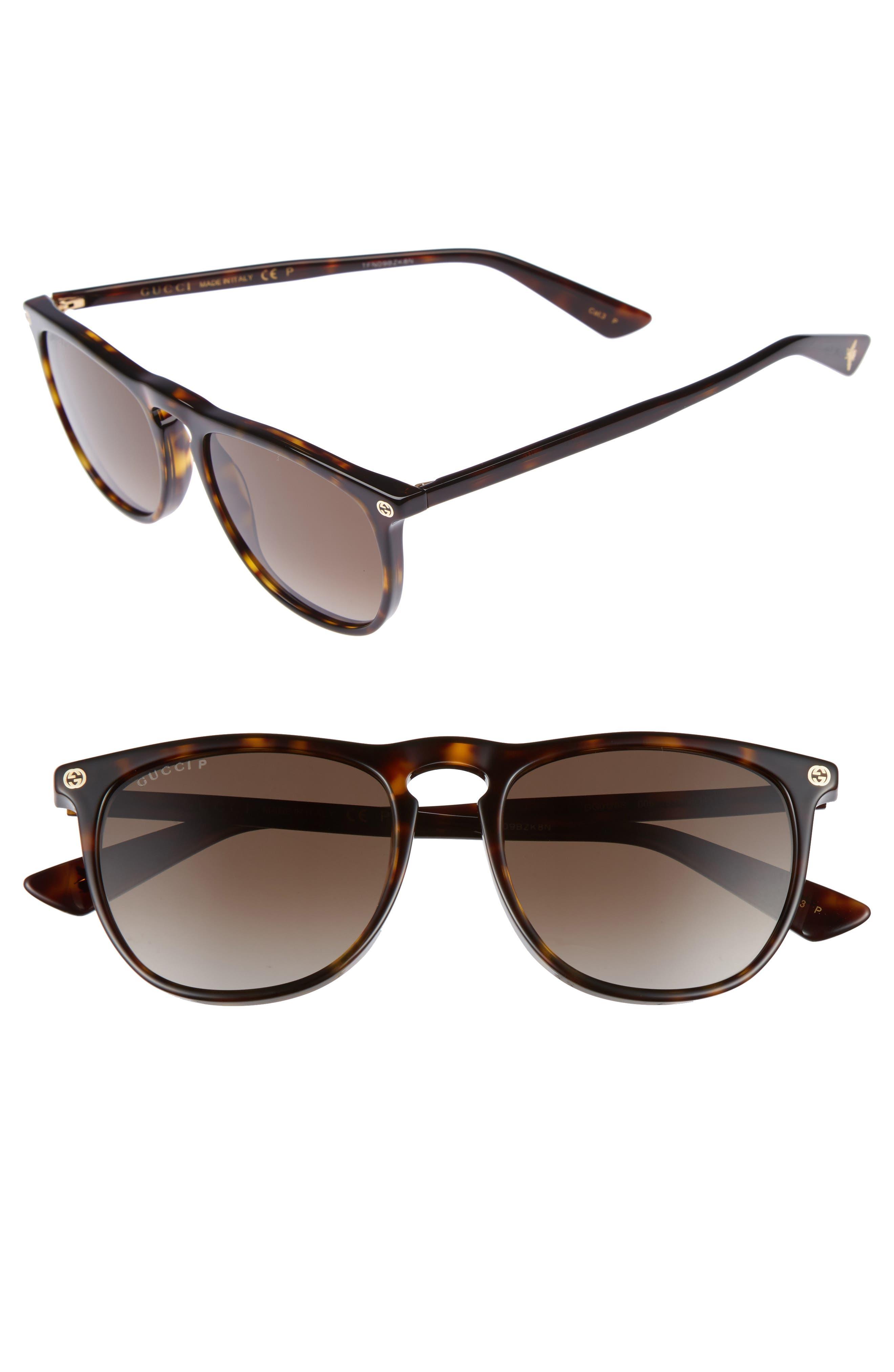Gucci Pantos 53mm Sunglasses