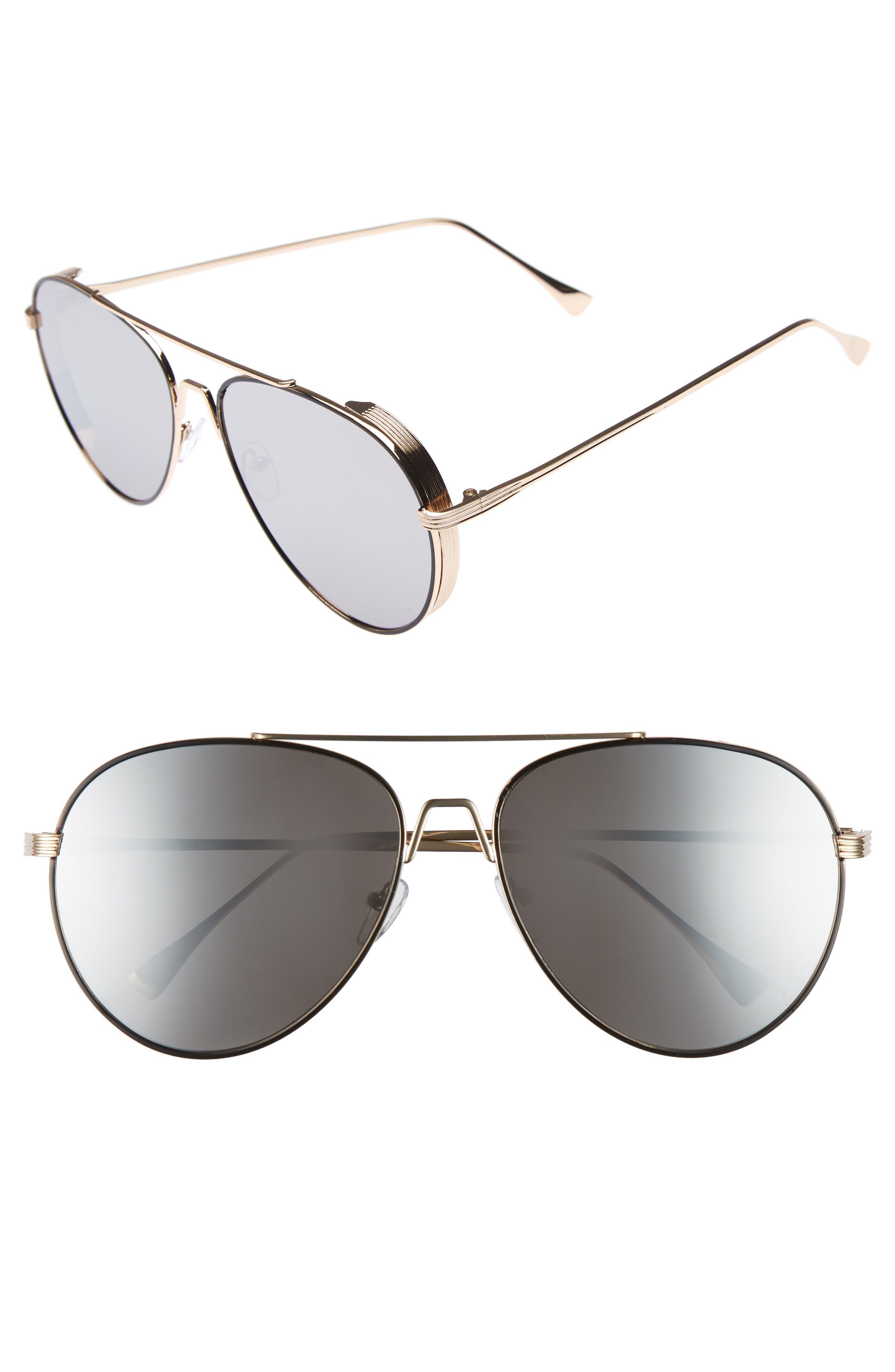 BP. 62mm Oversize Aviator Sunglasses