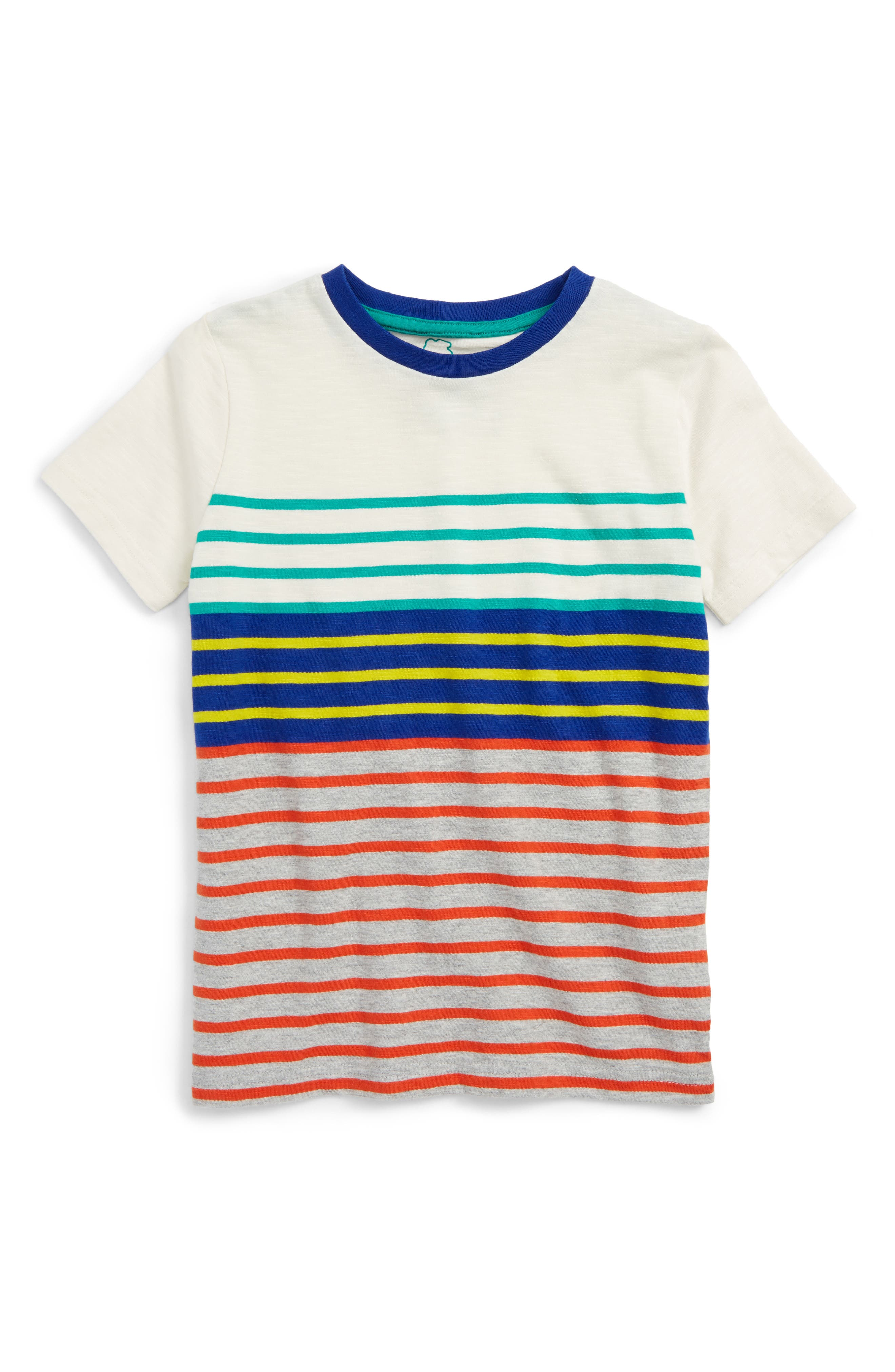Mini Boden Stripe T-Shirt (Toddler Boys, Little Boys & Big Boys)